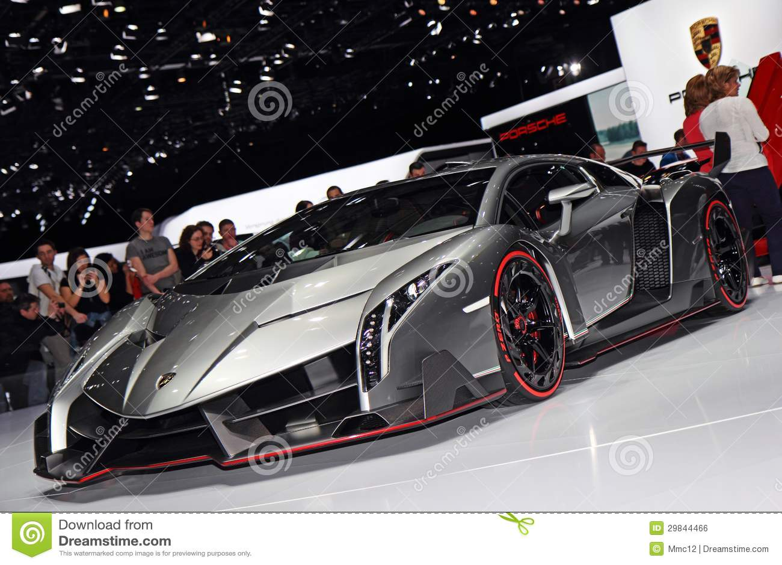 Lamborghini Veneno LP750-4 - exposição automóvel 2013 de Genebra