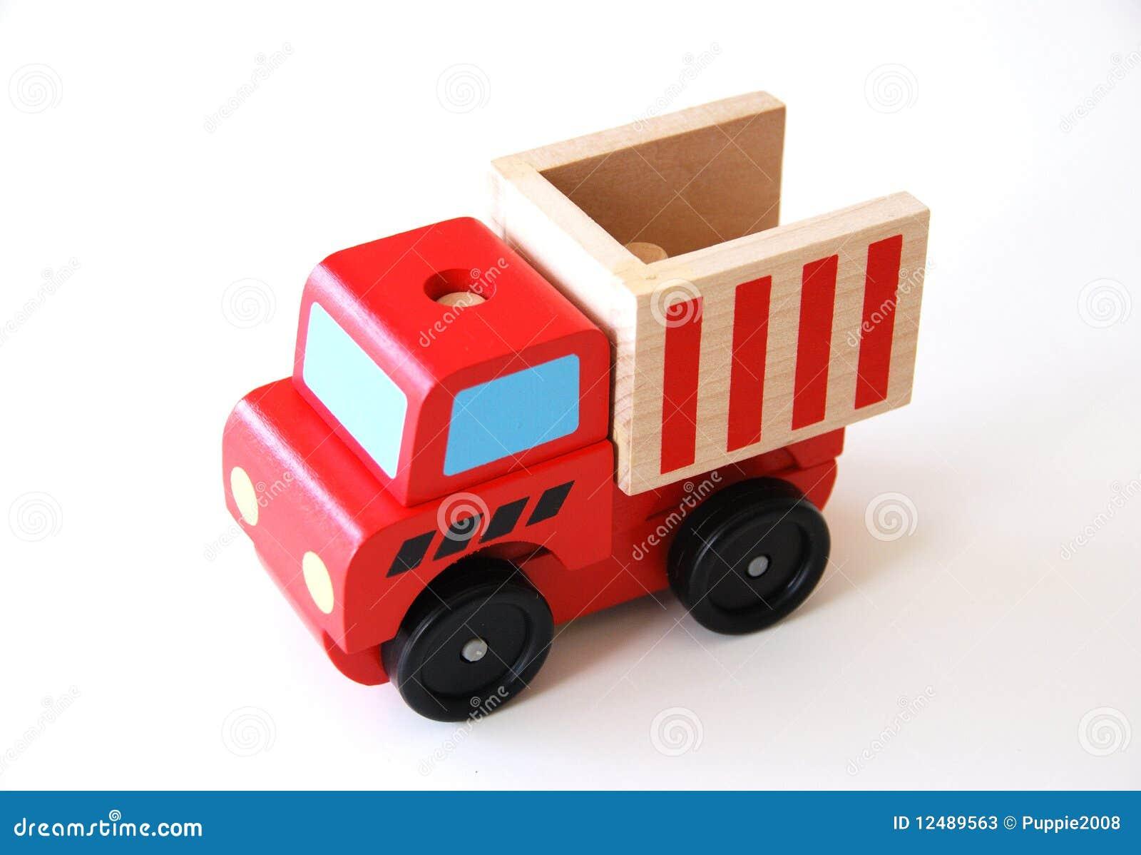 Carro de madera colorido que aprende el juguete imagen de for Carritos y camareras de cocina