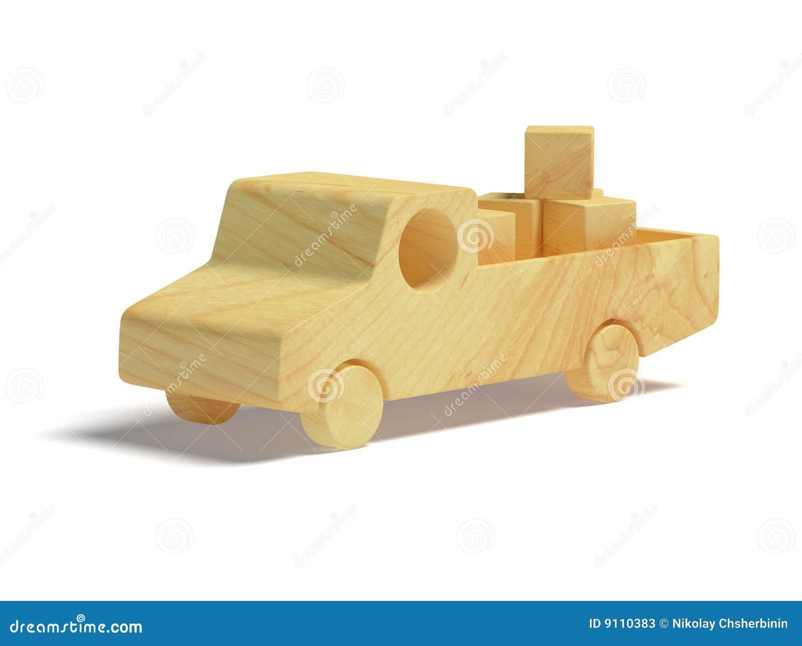 Carro de madera del juguete fotos de archivo imagen 9110383 - Fotos en madera ...