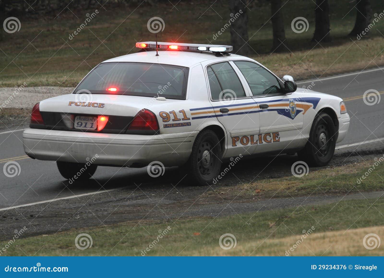 Download Carro de polícia foto de stock. Imagem de carro, emergência - 29234376