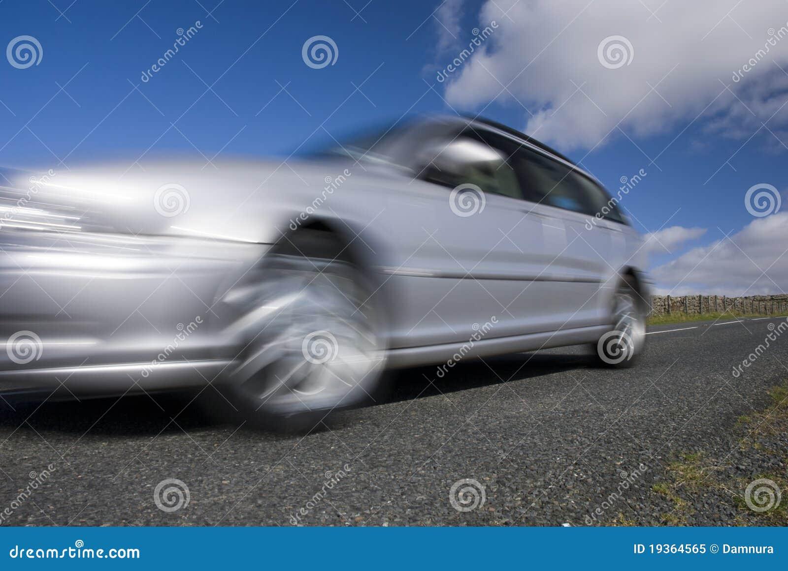 Carro de pressa de prata