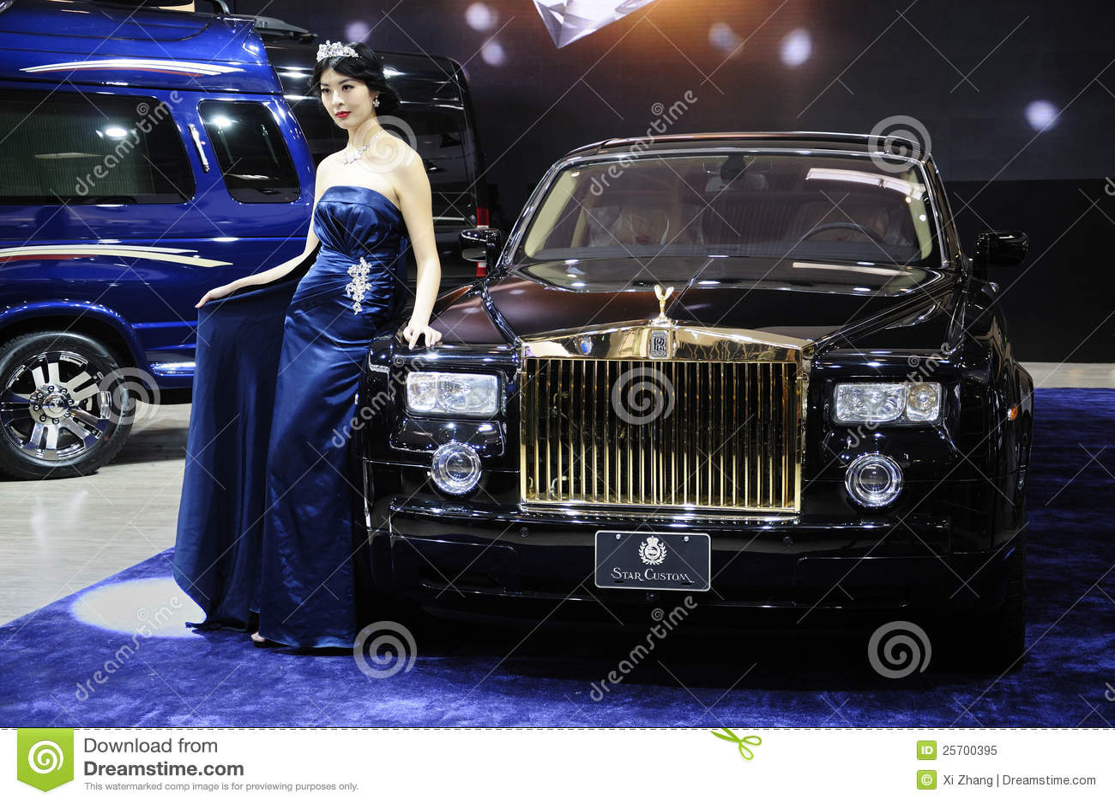 Carro de Rolls royce