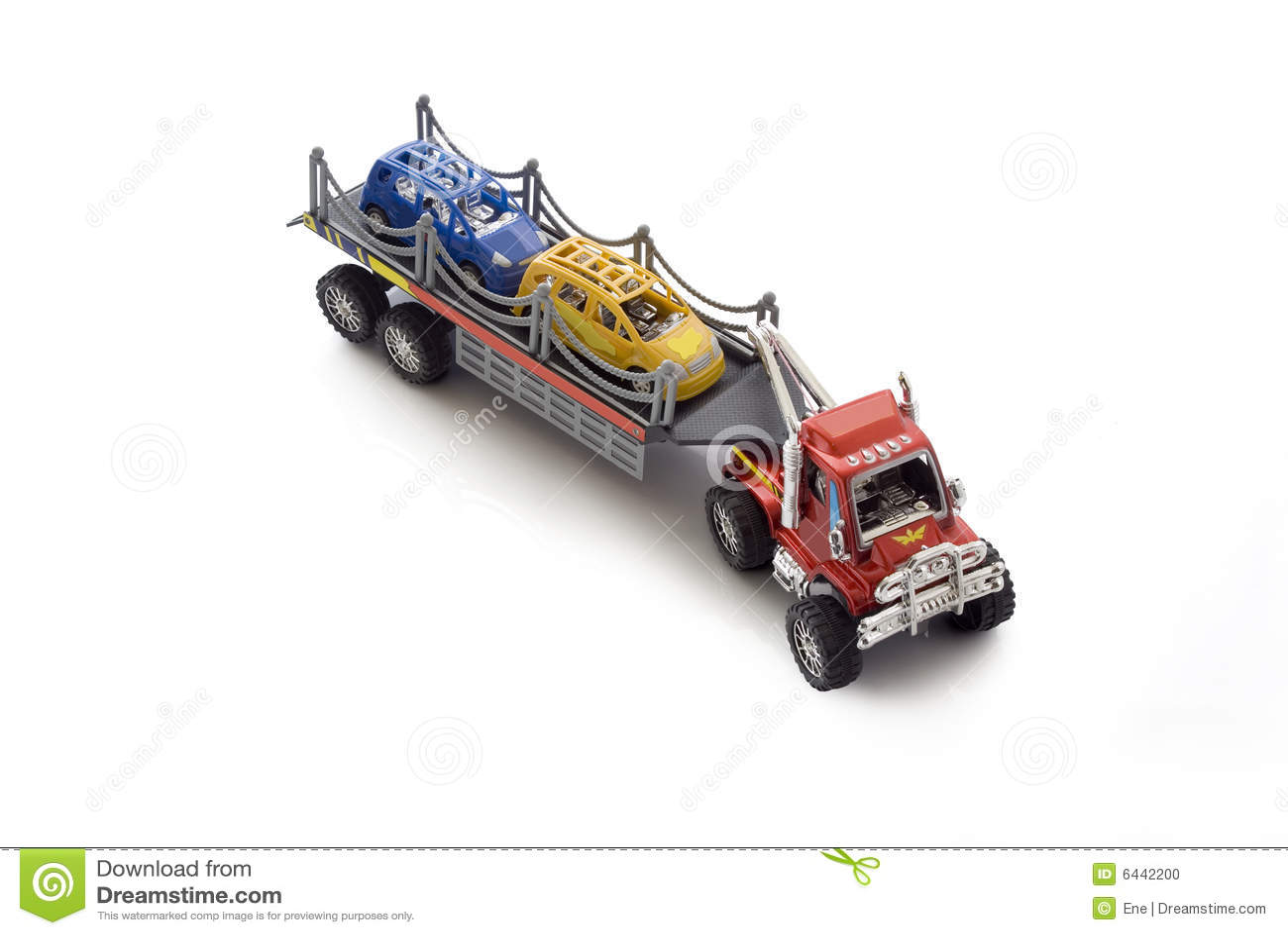 Carro Del Juguete Del Transporte Del Coche Foto De Archivo Imagen