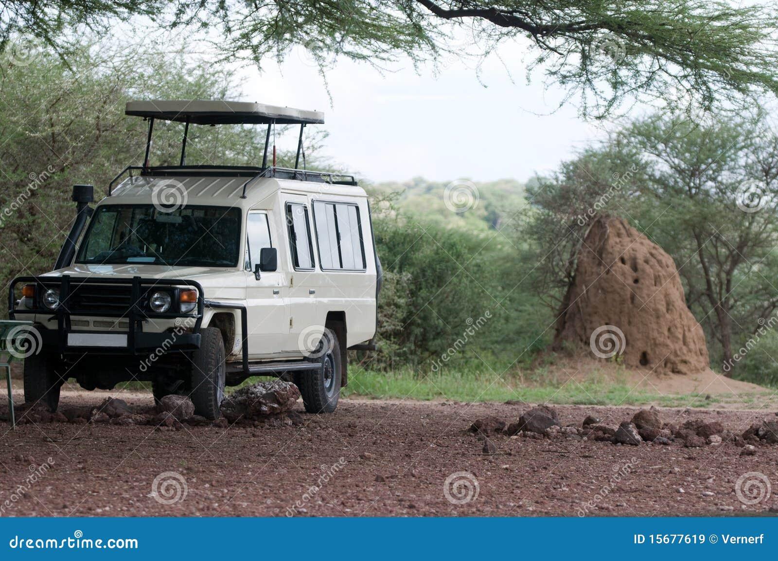Carro del safari