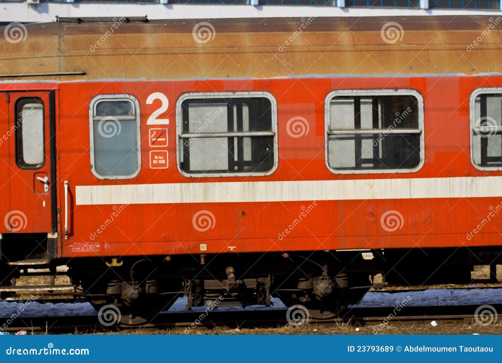 Carro del tren