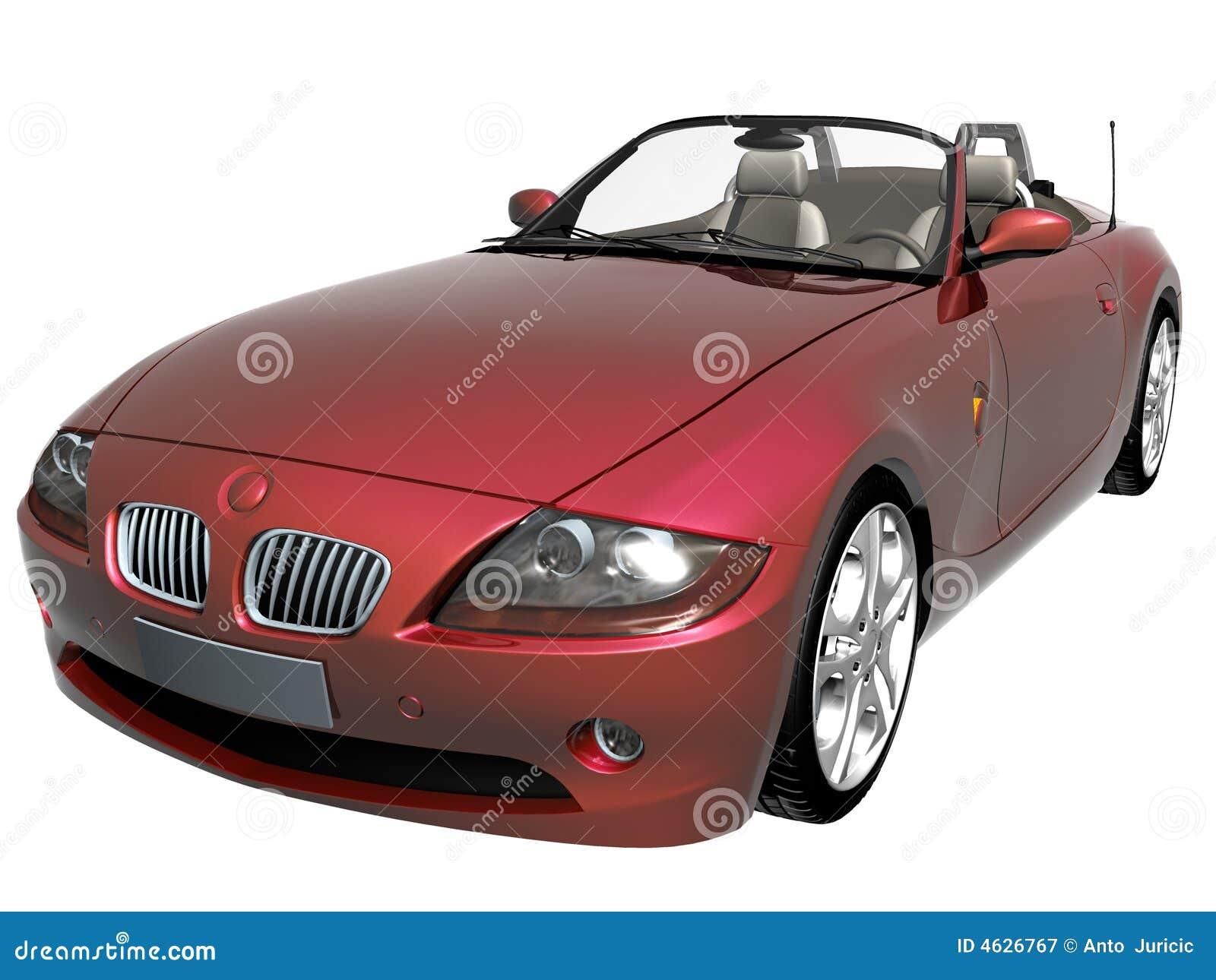 Carro desportivo 3d