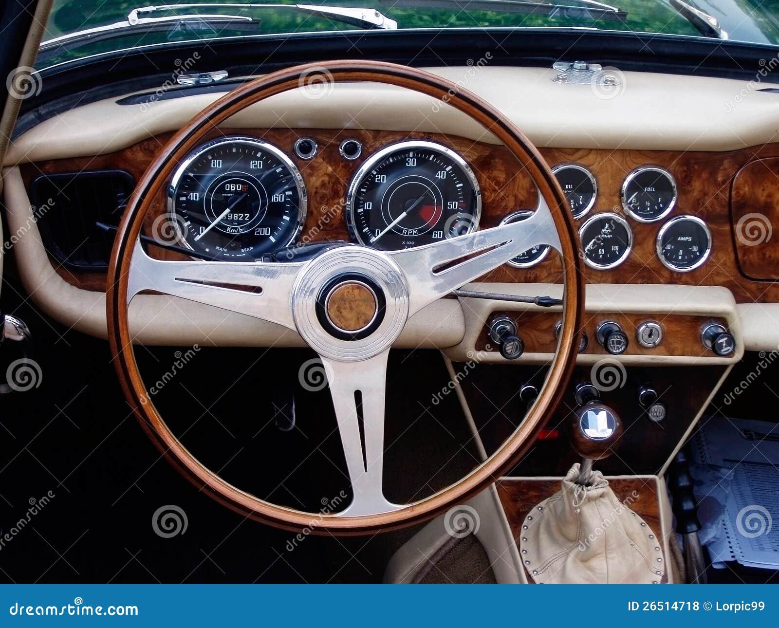 Carro desportivo do vintage