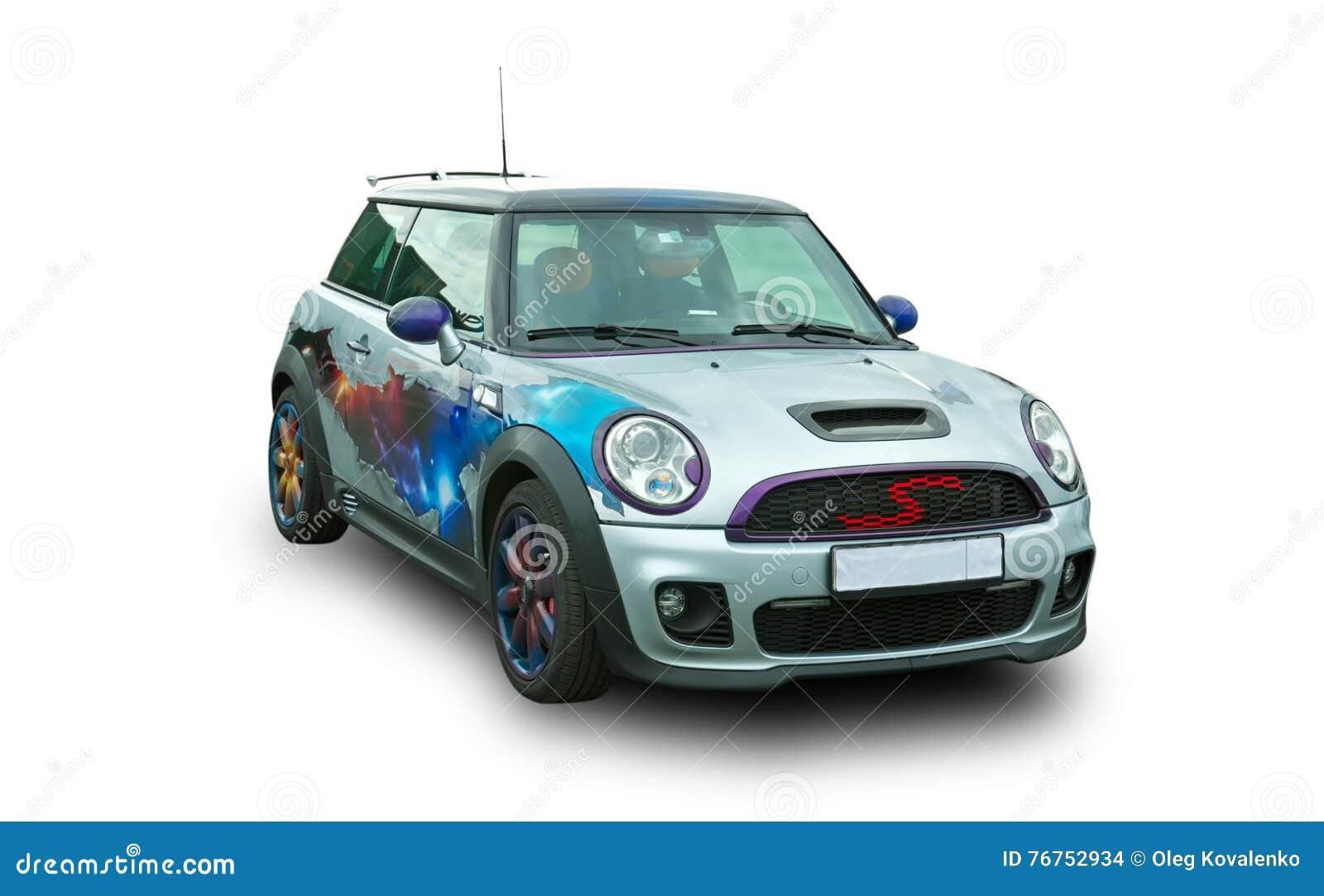Carro desportivo moderno Automóvel britânico popular