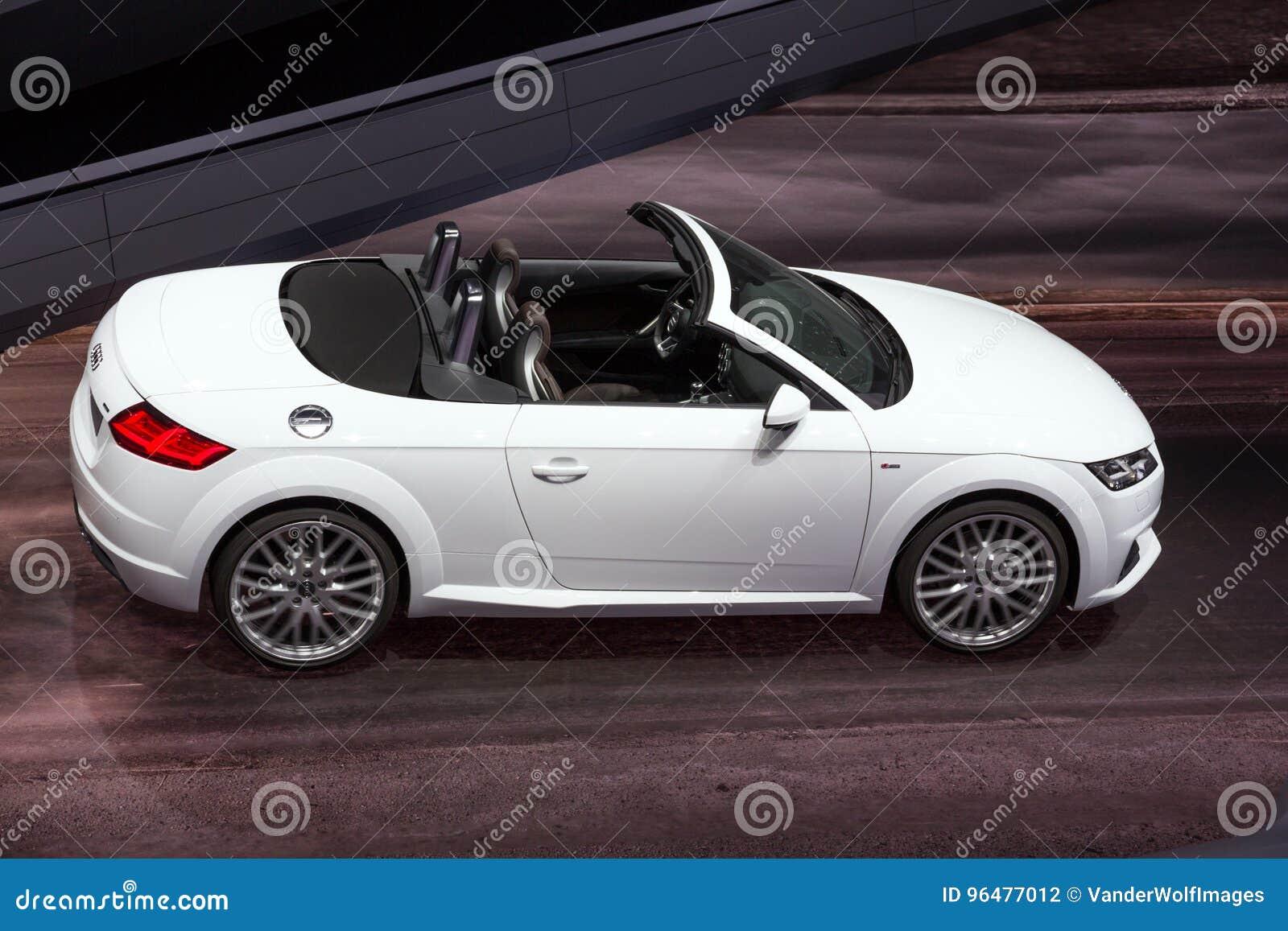 Carro Do Convertible De Audi Tt Fotografia Editorial Imagem De Convertible Audi 96477012