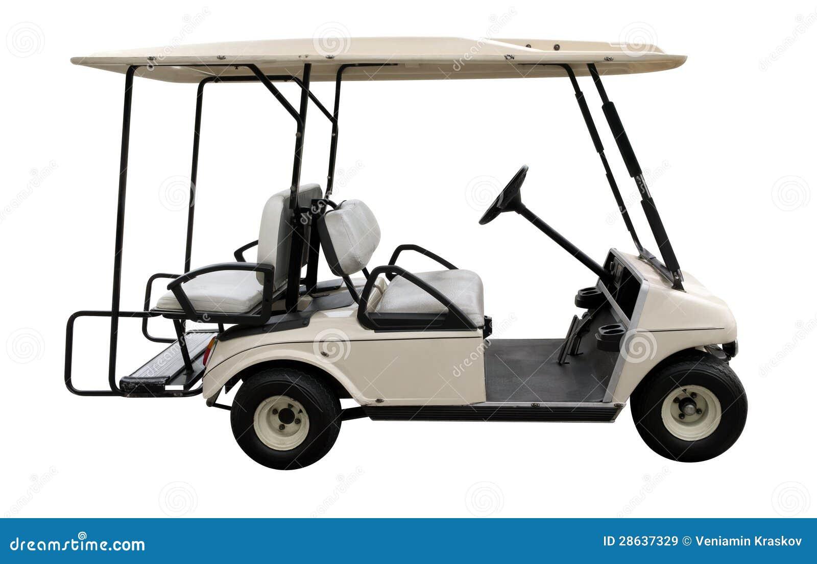 Carro do golfe