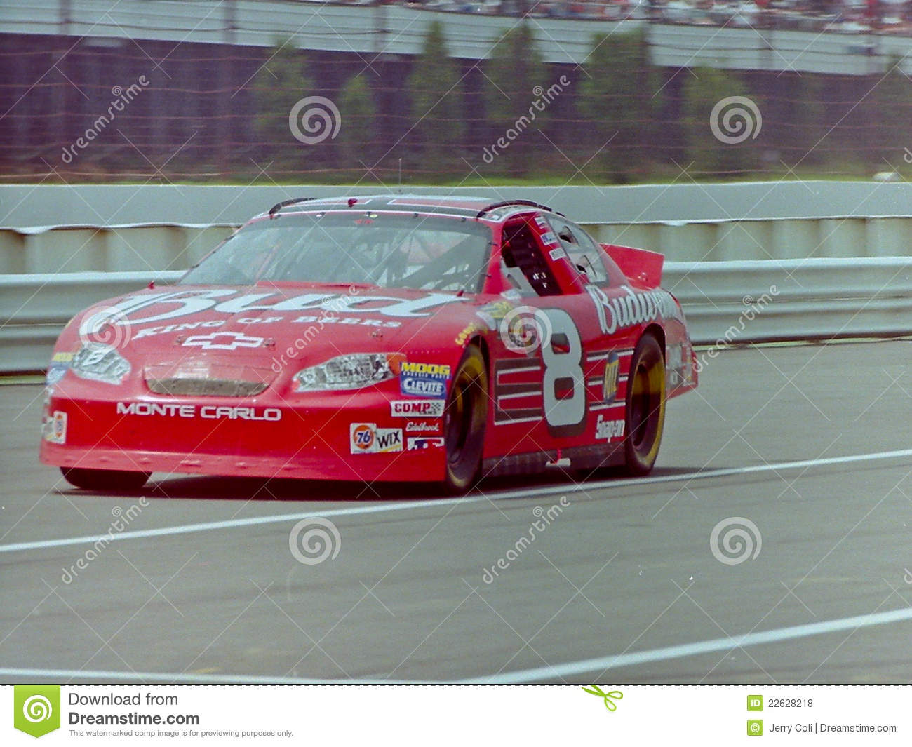 Carro Do Jr. Budweiser De Dale Earnhardt