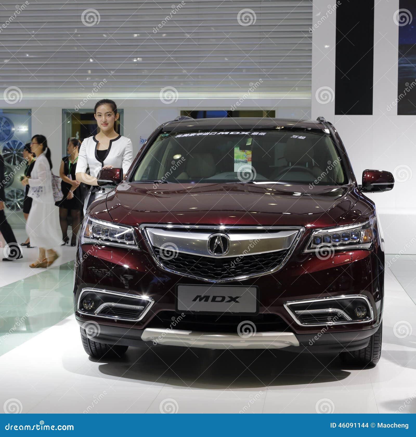 Carro do mdx de Acura