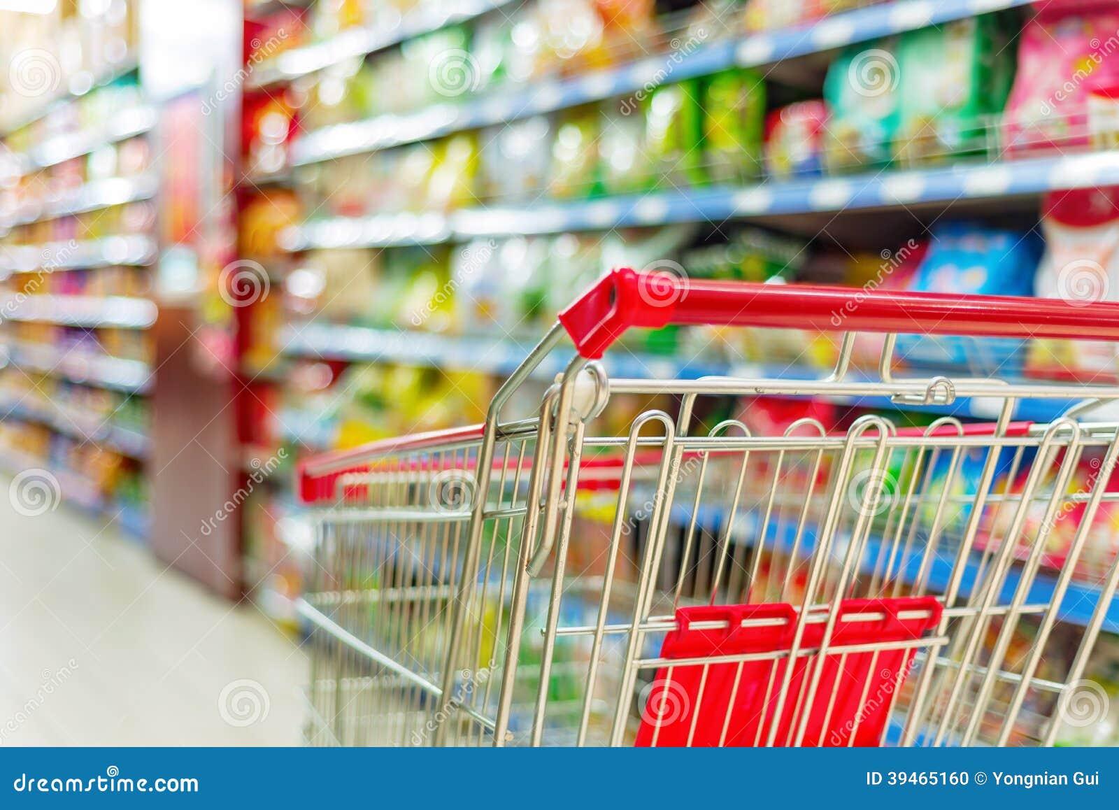 Carro do supermercado