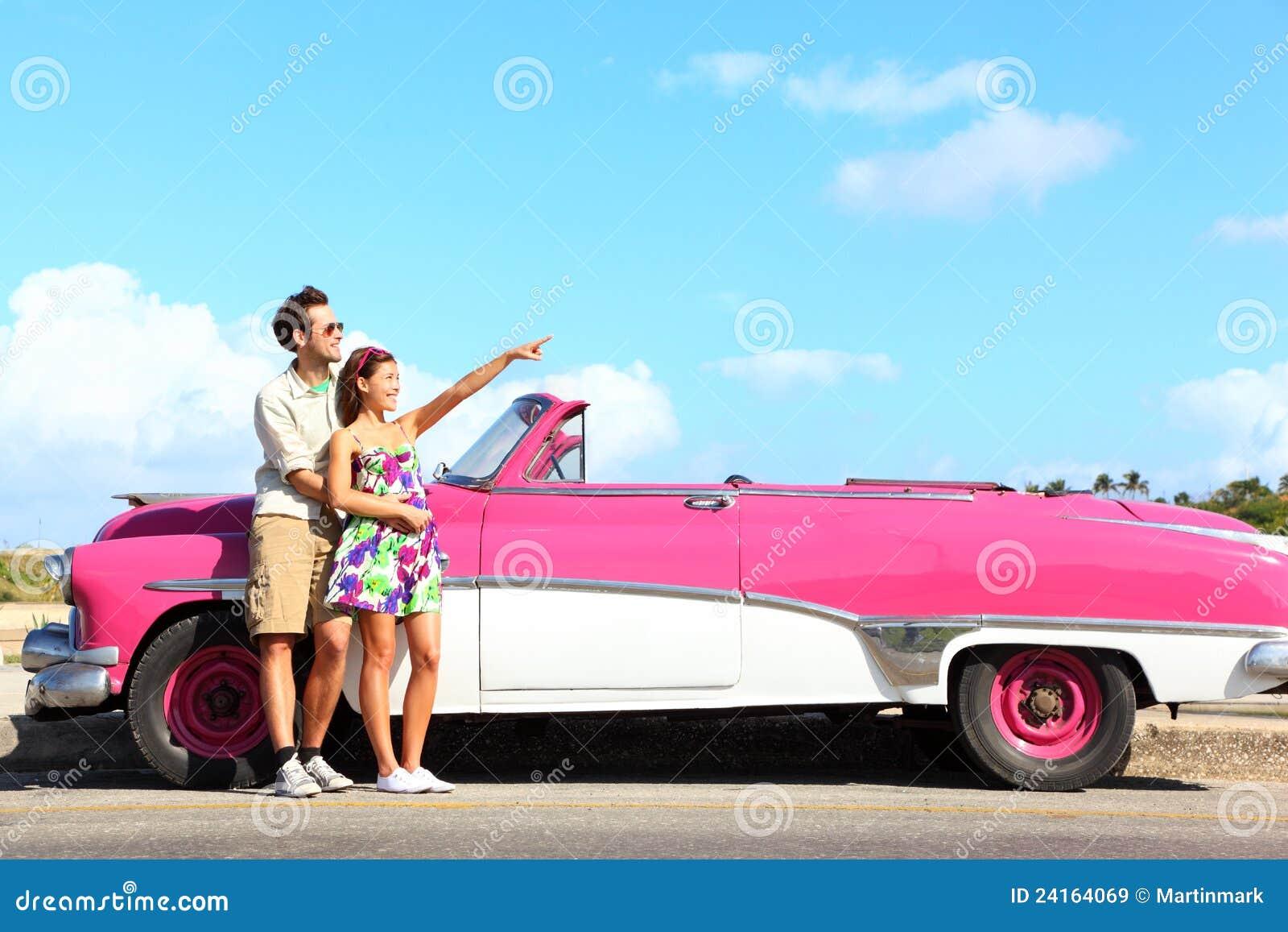 Carro do vintage - apontar dos pares