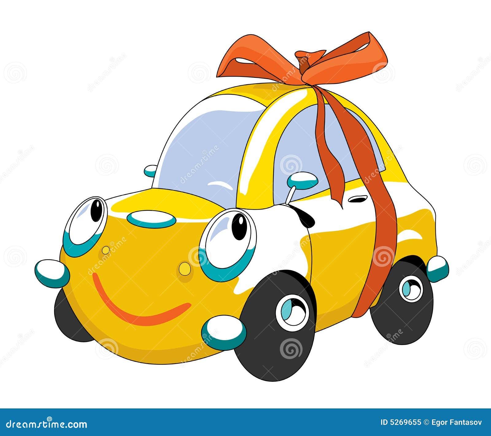 carro dos desenhos animados ilustração do vetor ilustração de