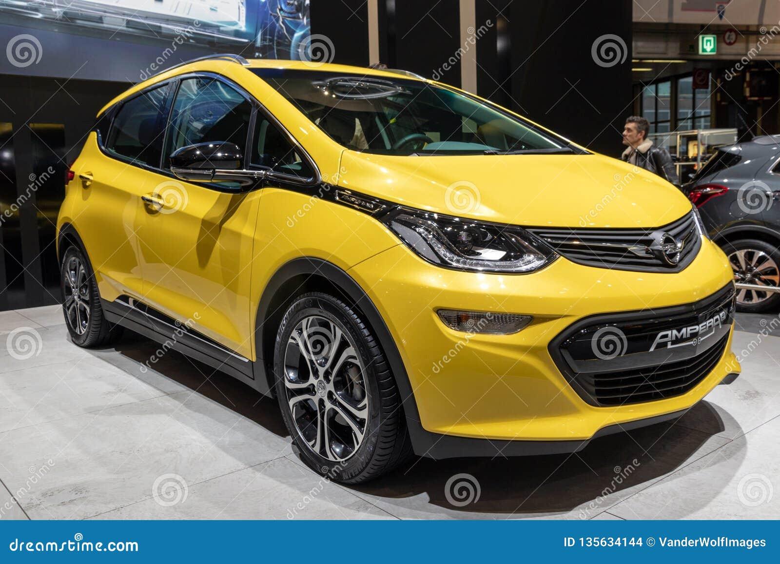 Carro elétrico de Opel Ampera
