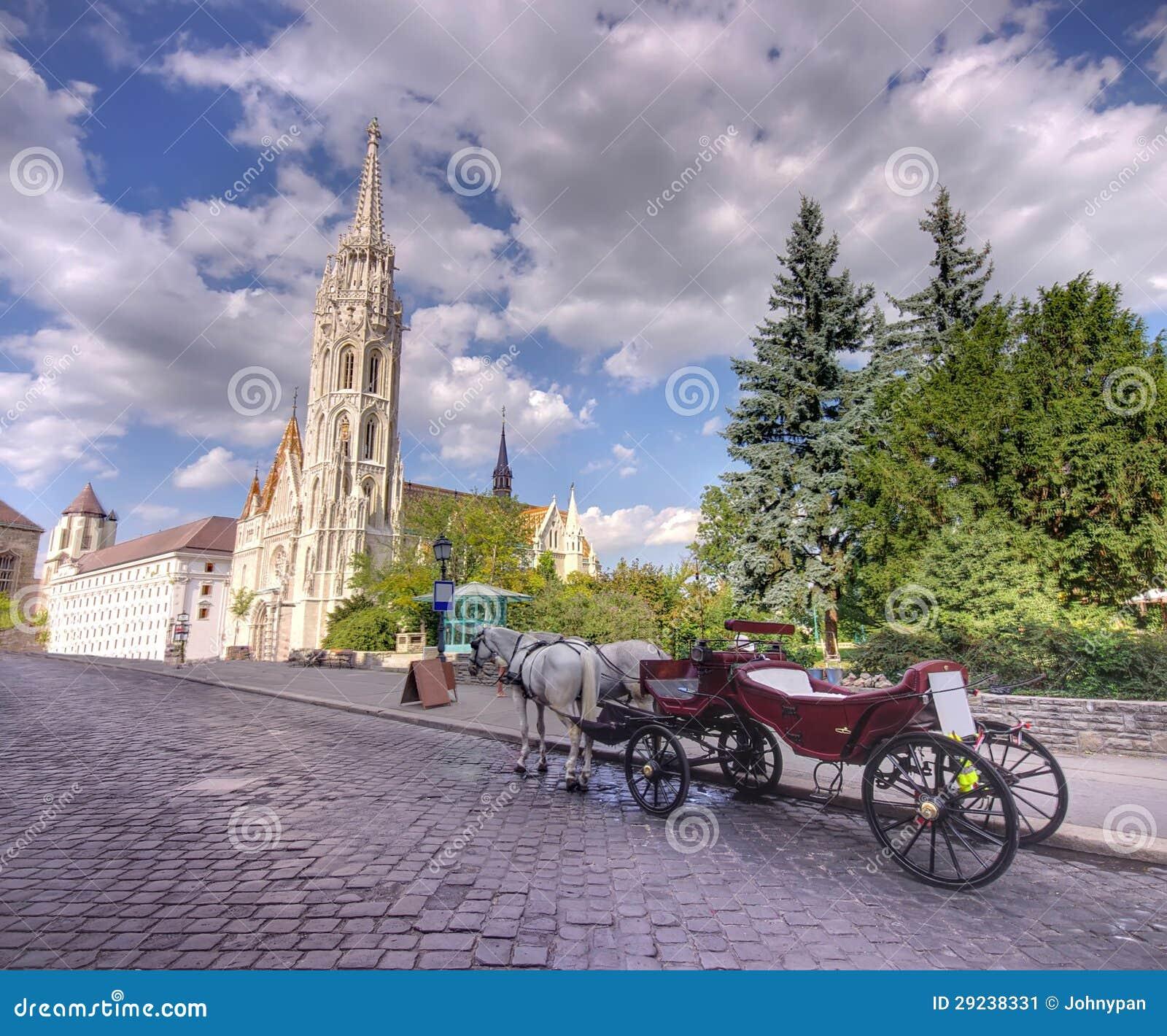 Download Carro em Budapest imagem de stock. Imagem de hungria - 29238331