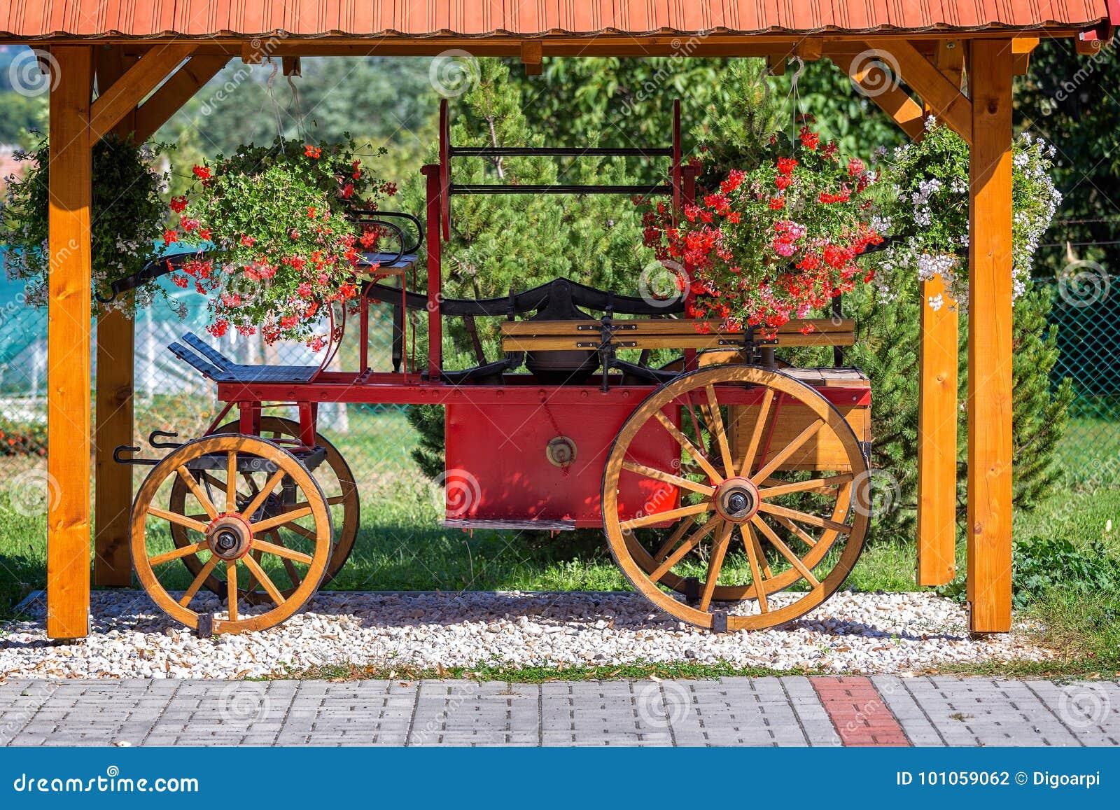 Carro húngaro antigo do fogo
