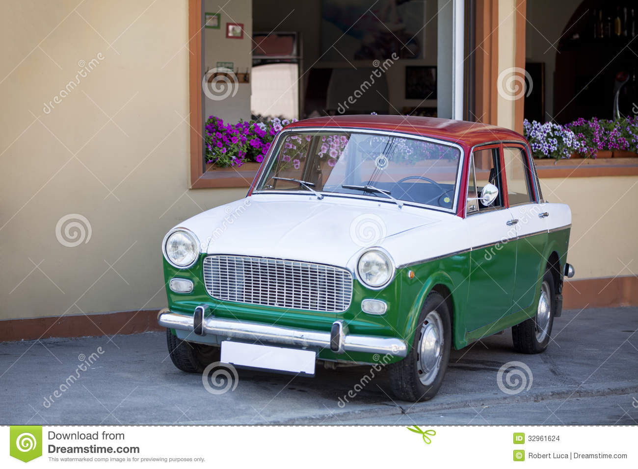 Carro italiano do vintage