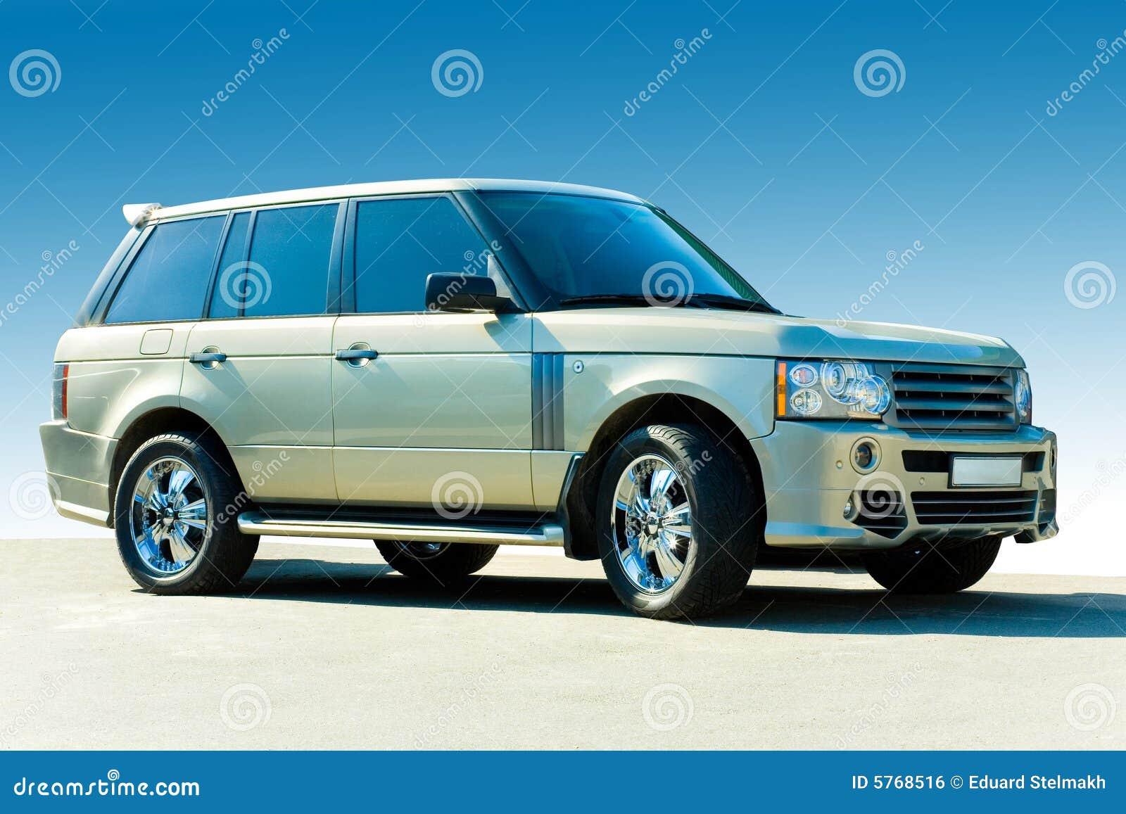 Carro luxuoso Offroad.