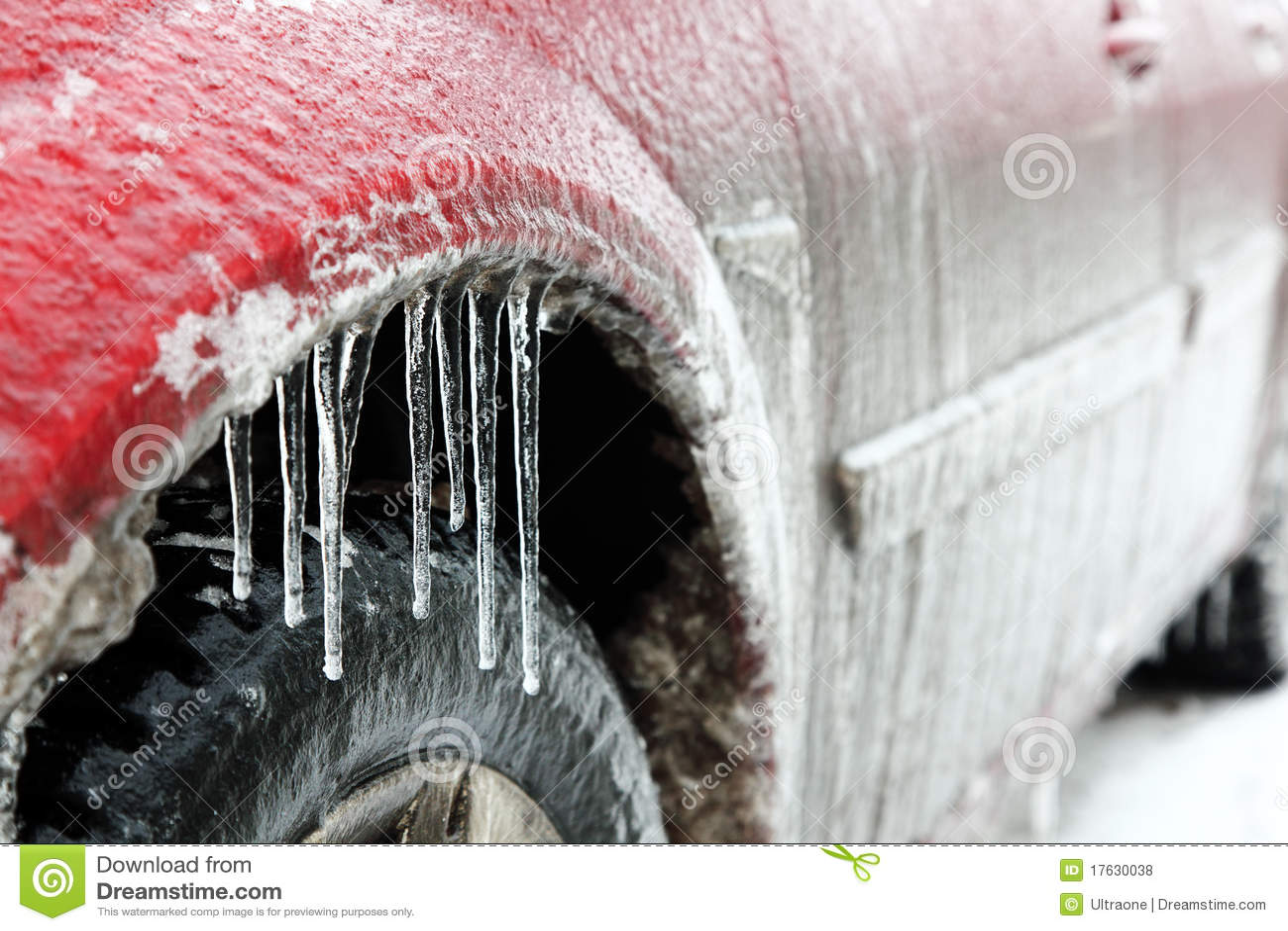 Carro no gelo