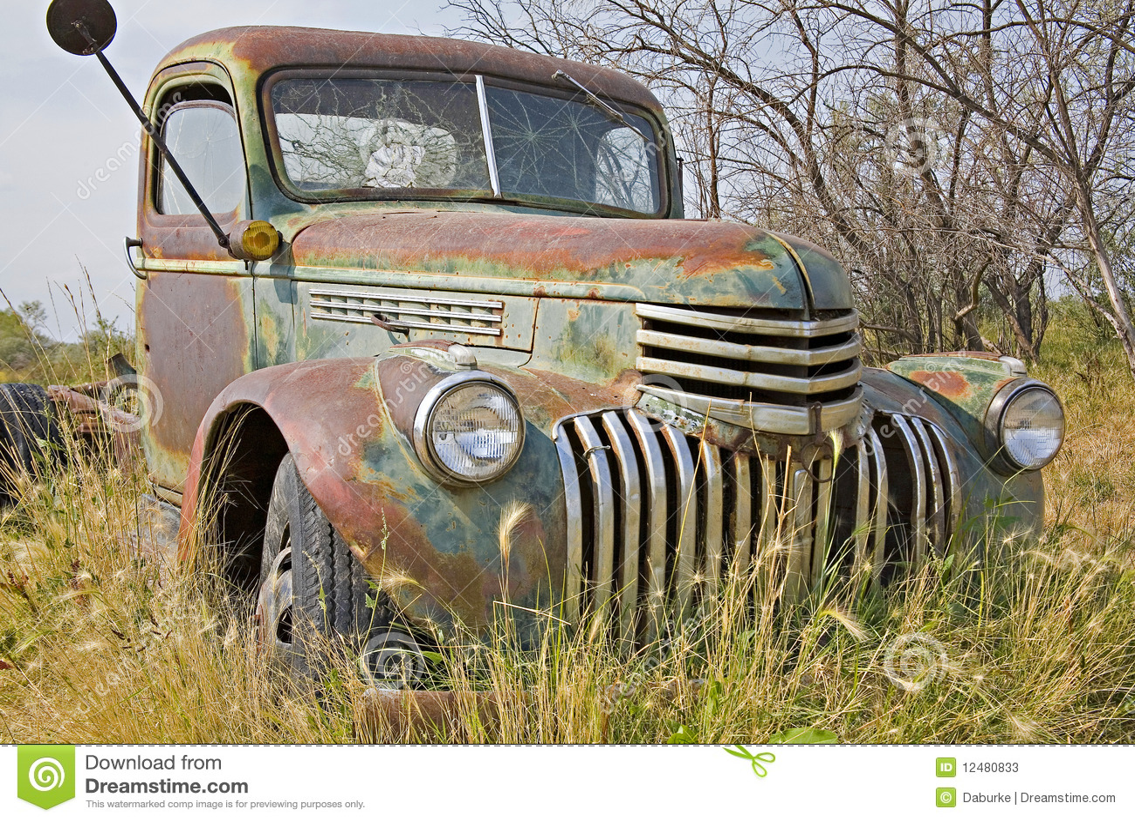 carro oxidado de la granja fotos de archivo imagen 12480833