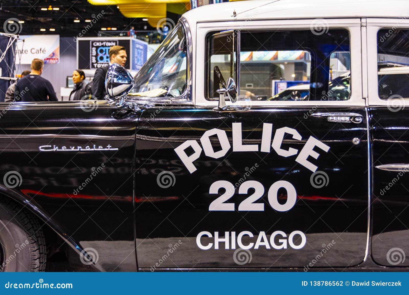 Carro policial 1957 de Chicago