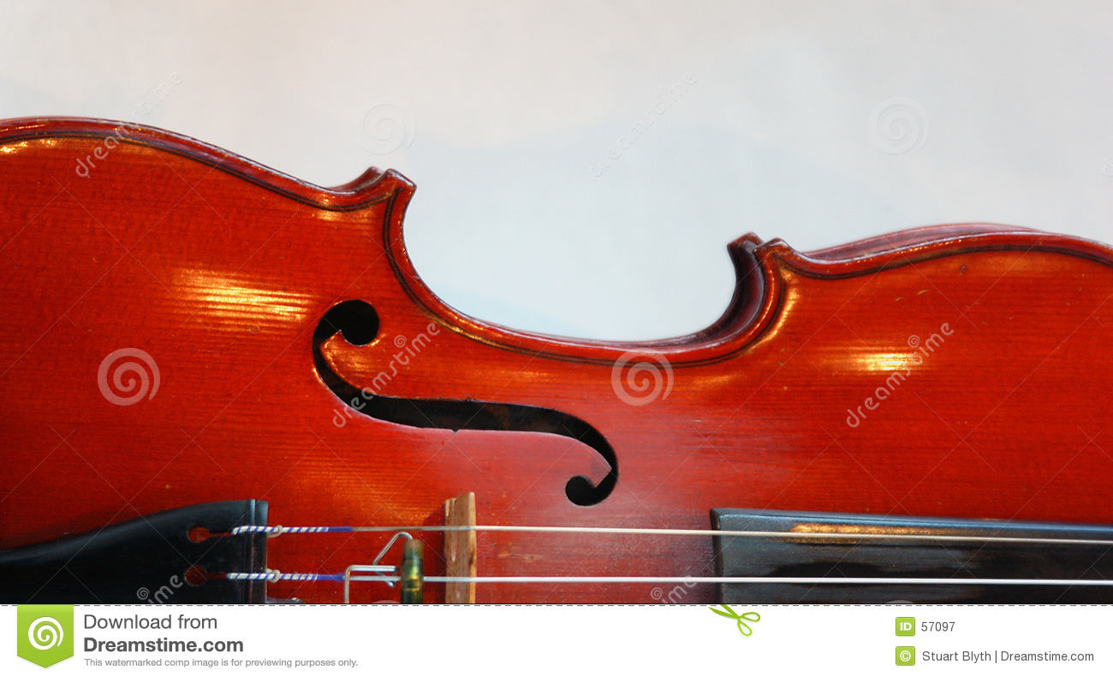 Carrocería del violín