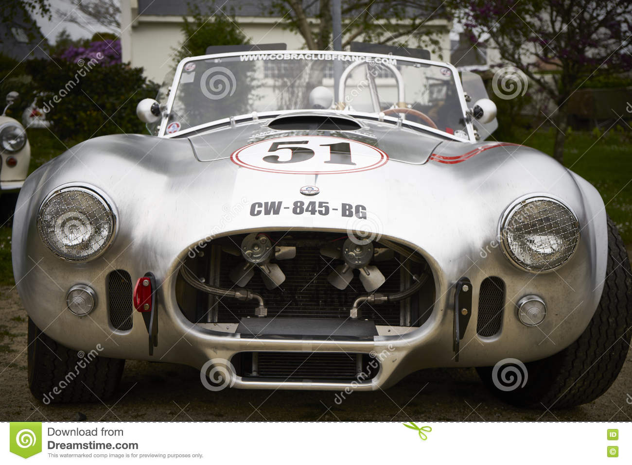 Carroll Shelby 427 AC Cobra Editorial Photo - Image of collector ...