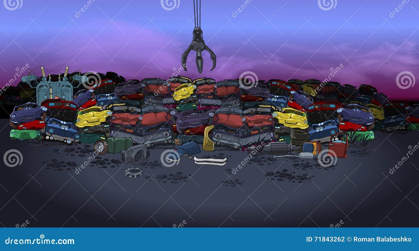 Carros da descarga