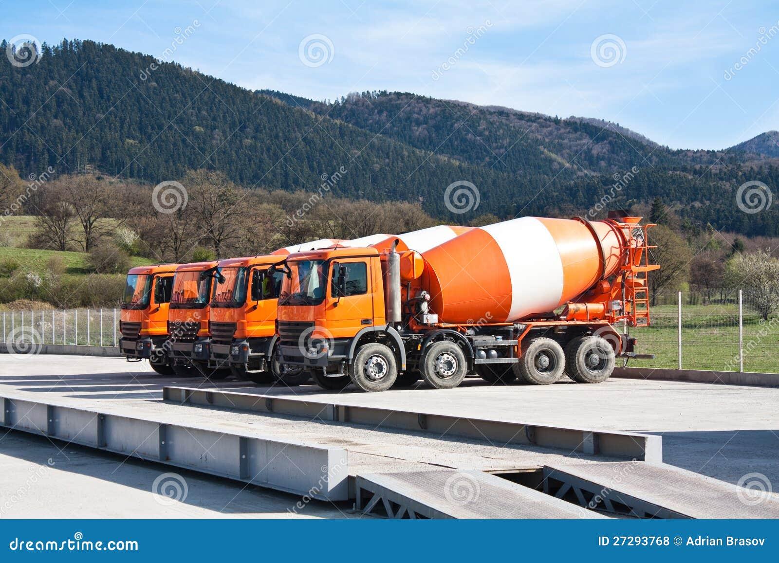 Carros del cemento