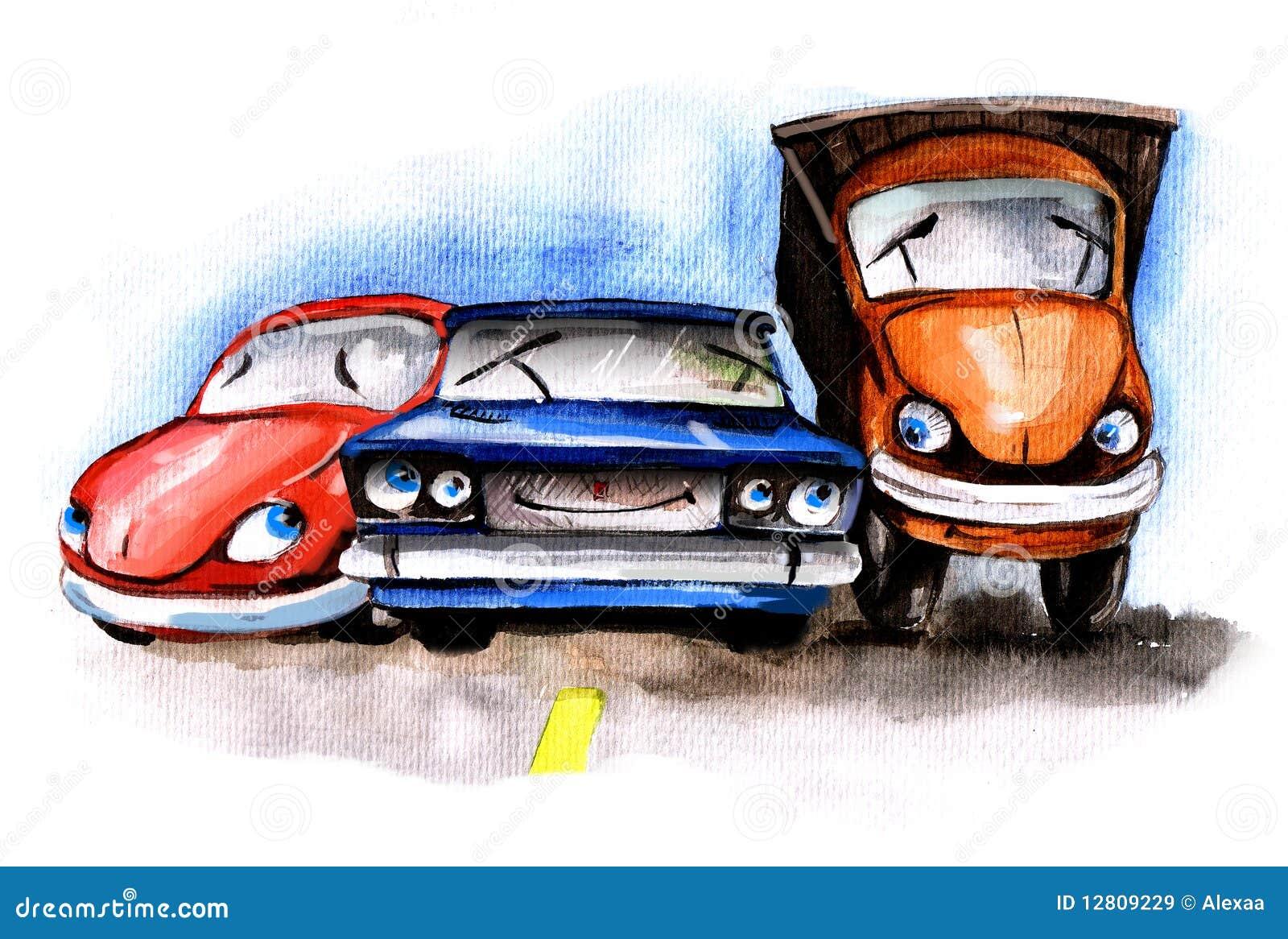 Carros engraçados