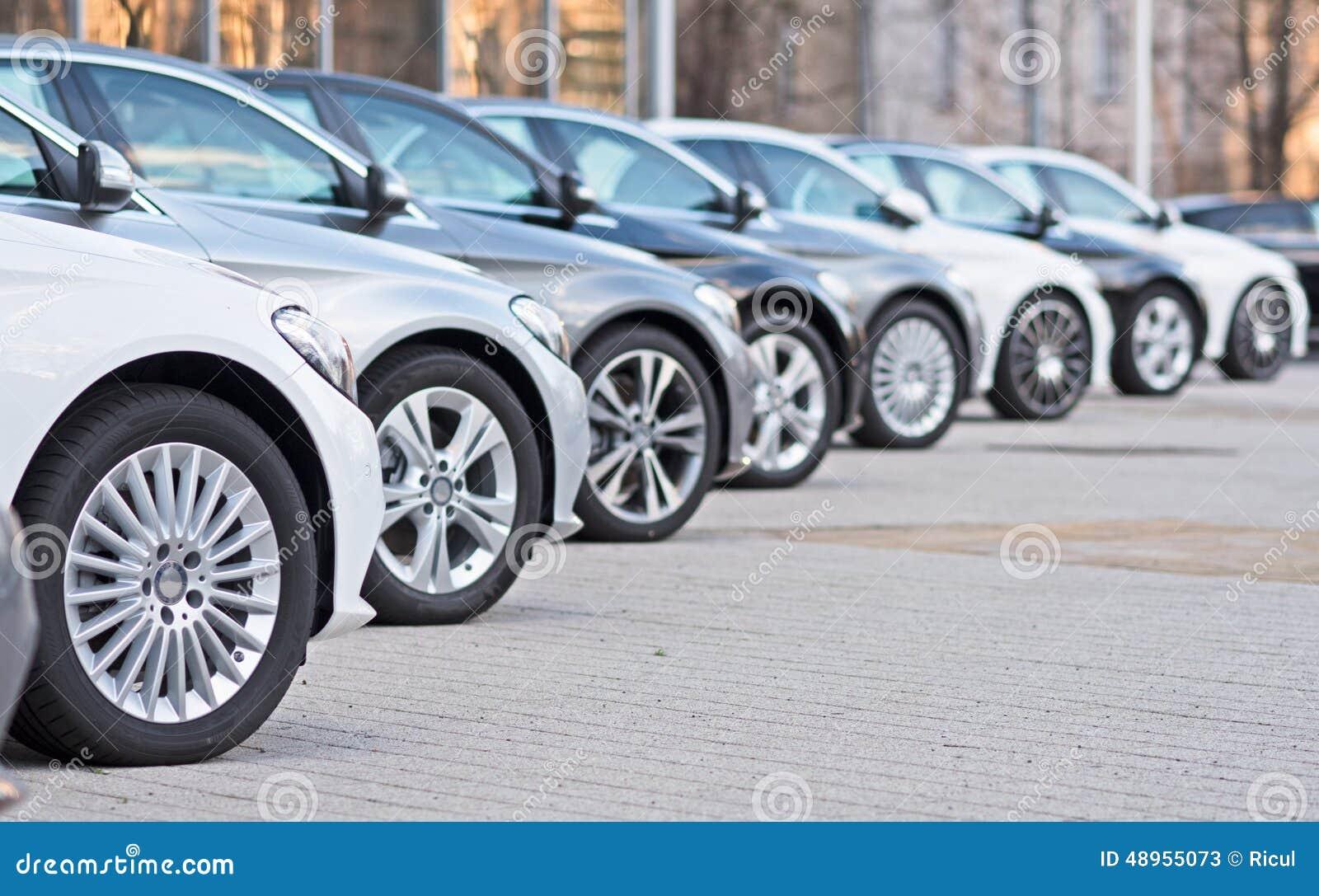 Carros usados para a venda