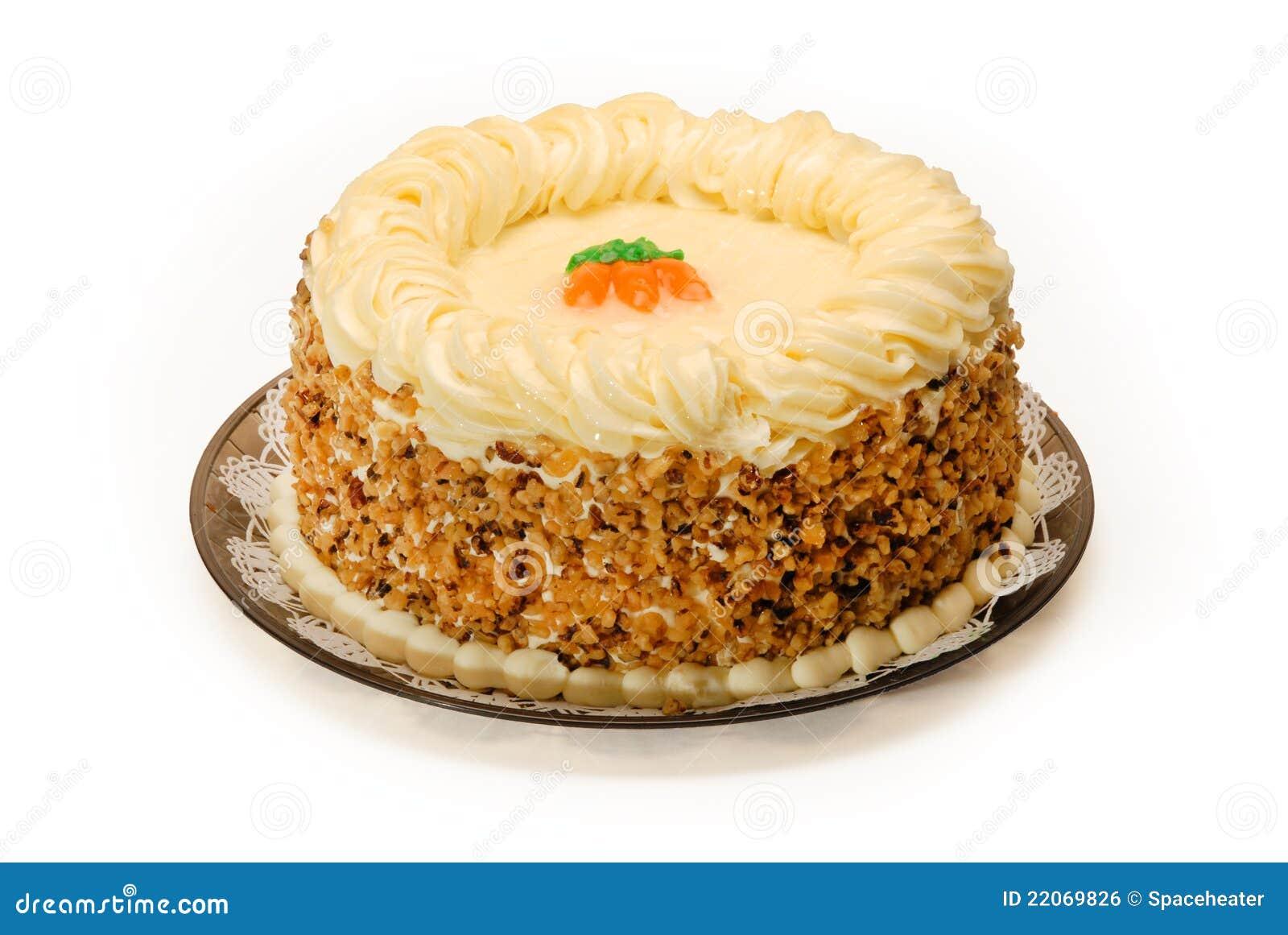 Raw Carrot Cake Calories