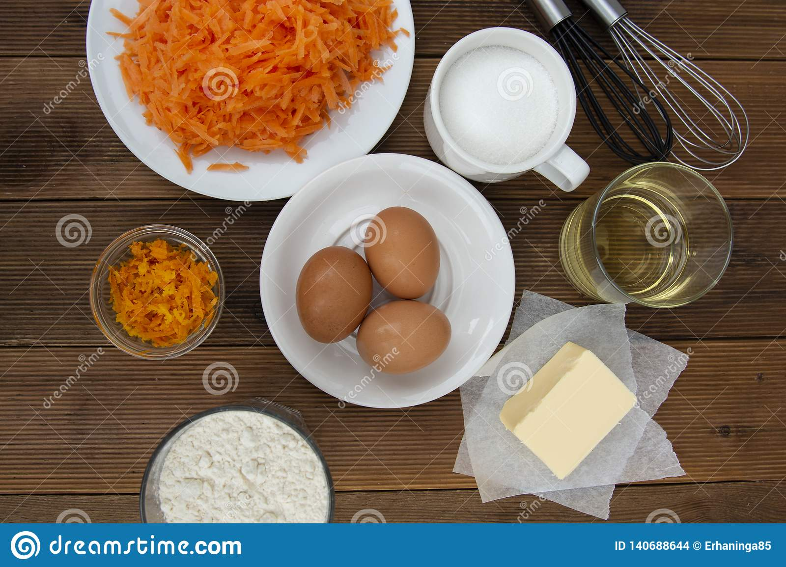 Carrot Cake Recipe Making Dough For Carrot Cake Pie Muffins Or