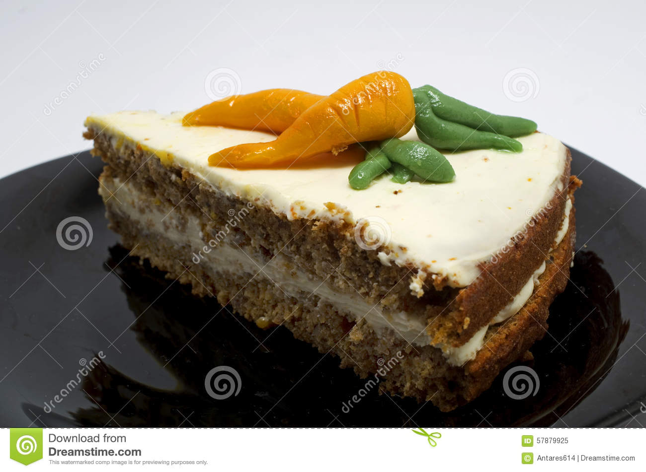 Download Carrot cake stock image. Image of plate, healthy, veggie - 57879925