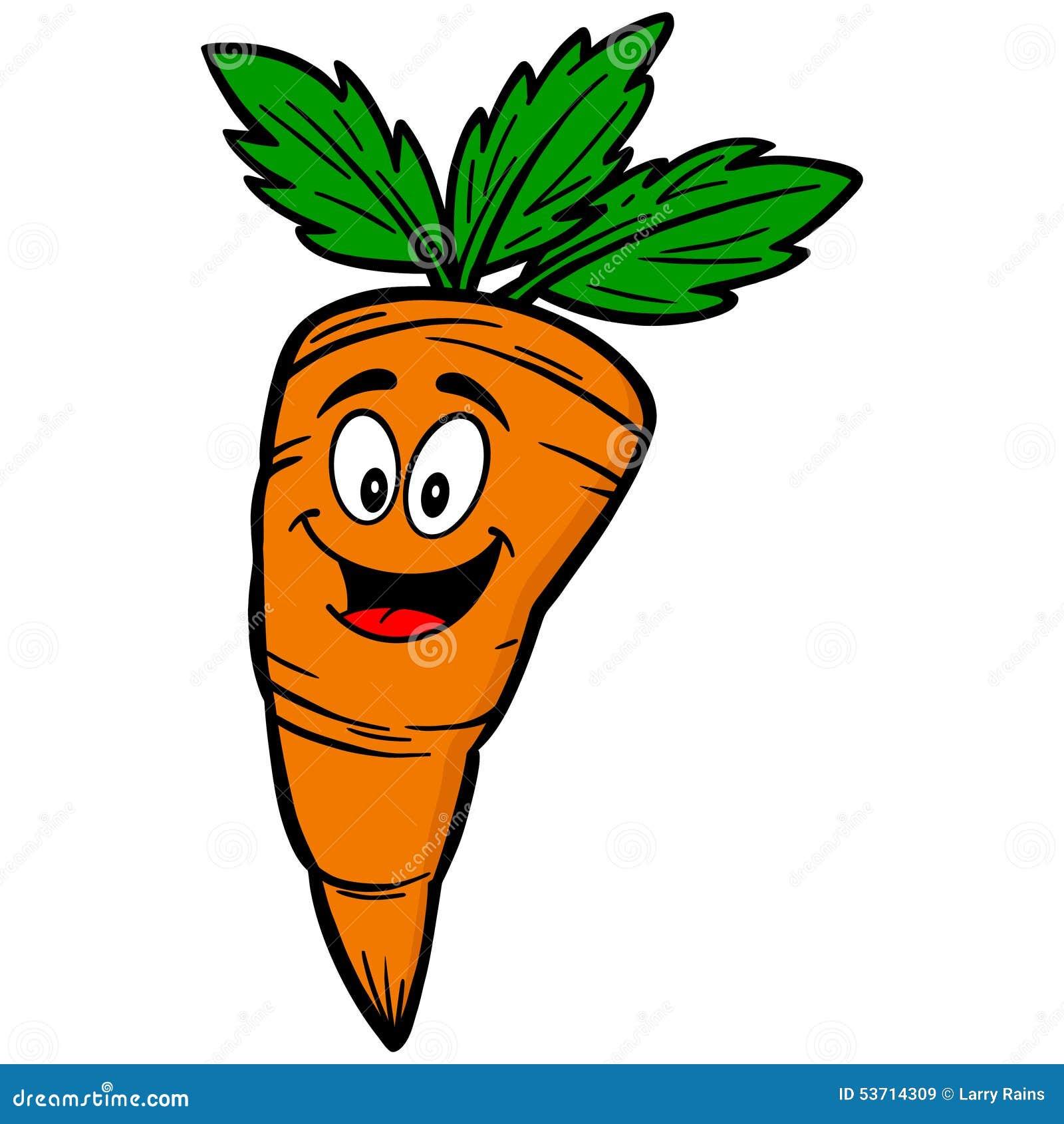 Stock Illustration Carrot Cartoon Mascot Illustration Image53714309 on Food To Sell