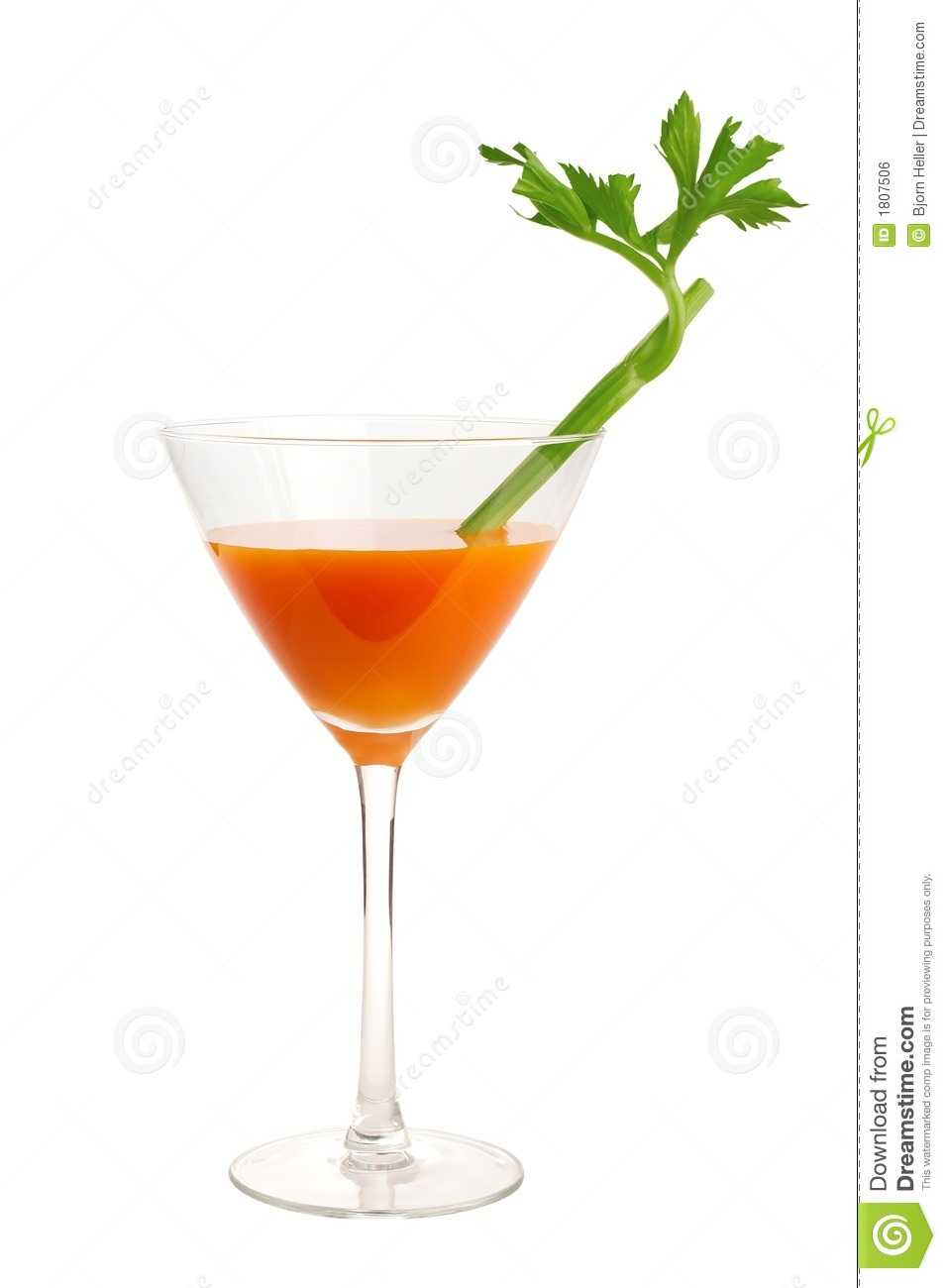 Carrot And Celery Cocktail Royalty Free Stock Image - Image: 1807506