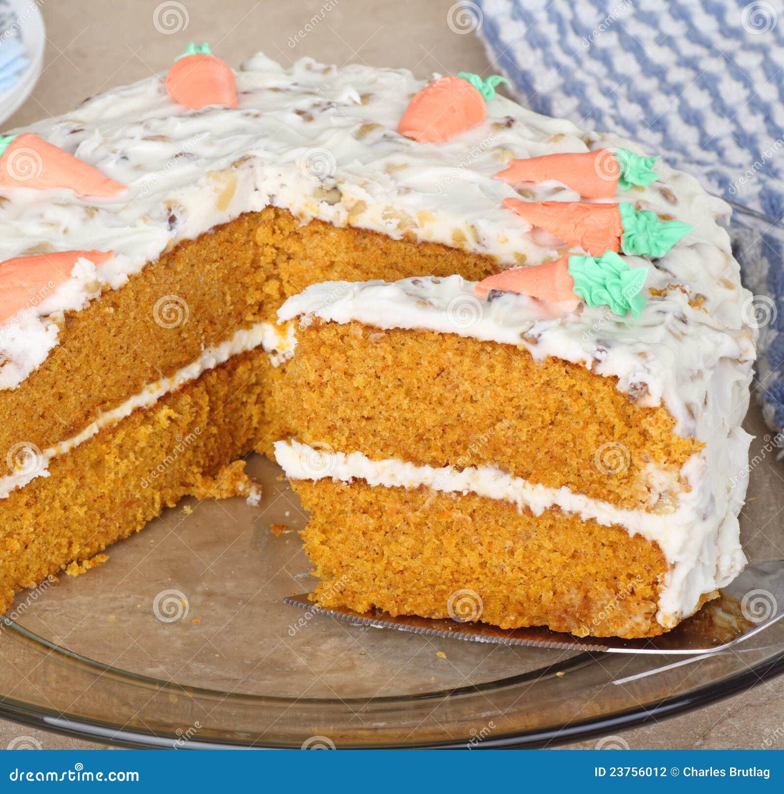Carrot Layer Cake Slice