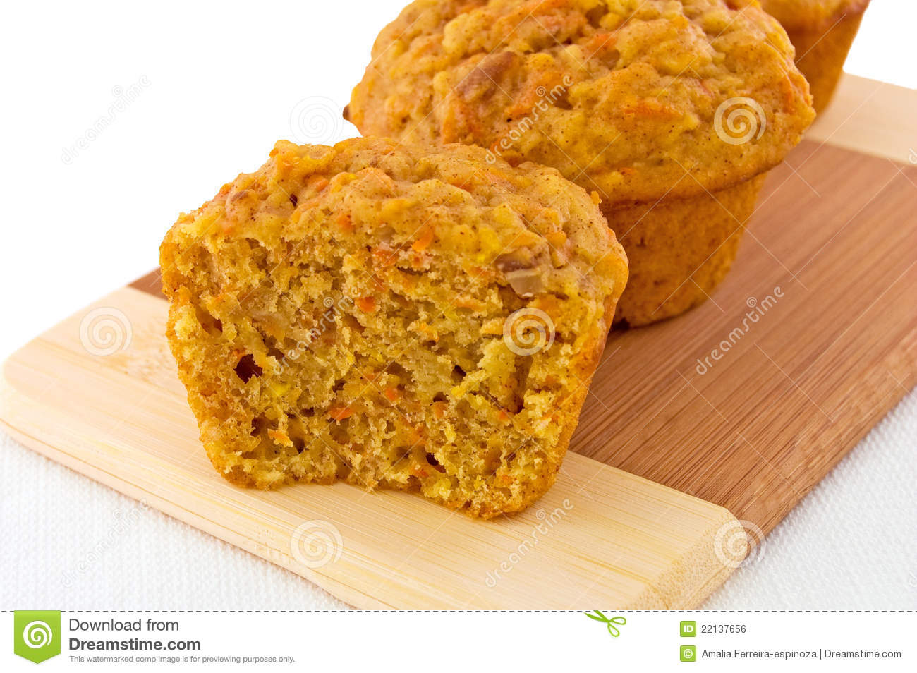 Carrot Muffins Royalty Free Stock Image - Image: 22137656