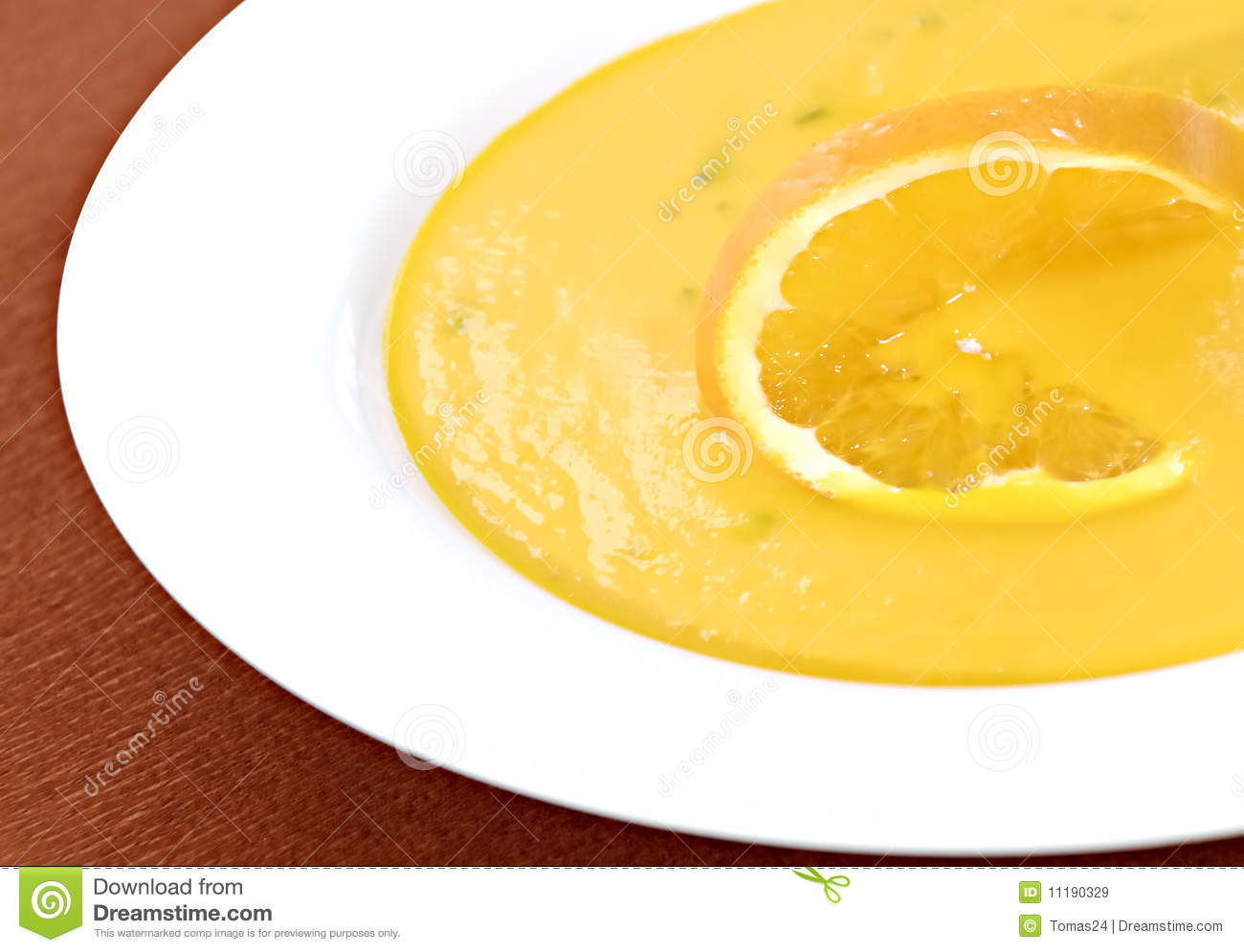 Carrot And Orange Soup Royalty Free Stock Images - Image: 11190329