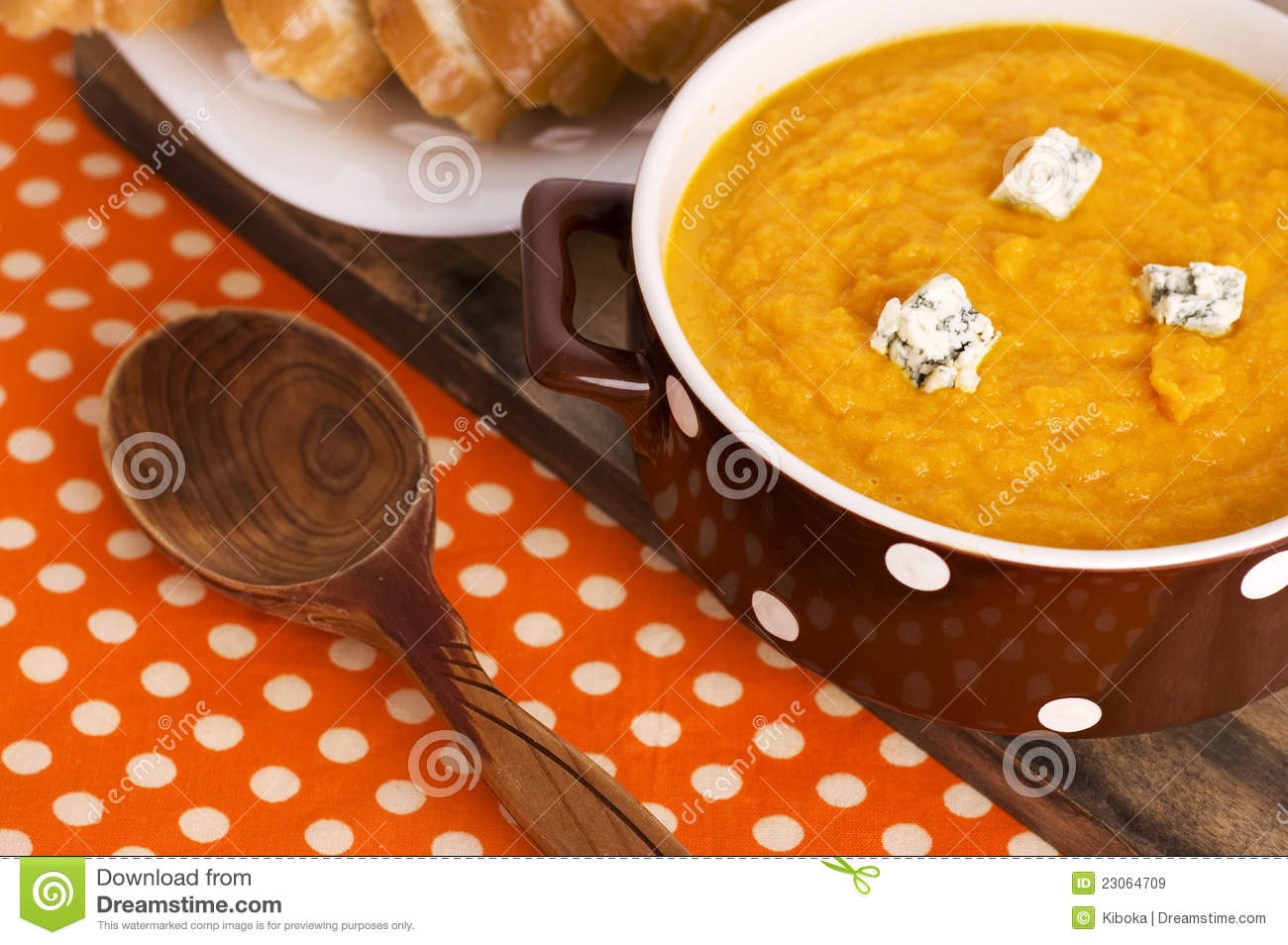 Carrot Soup Royalty Free Stock Images - Image: 23064709