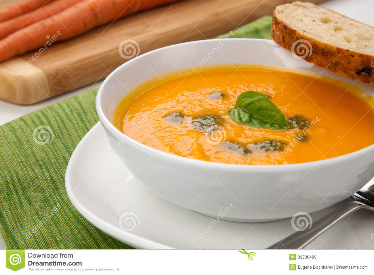 Carrot Soup Royalty Free Stock Images - Image: 33330489