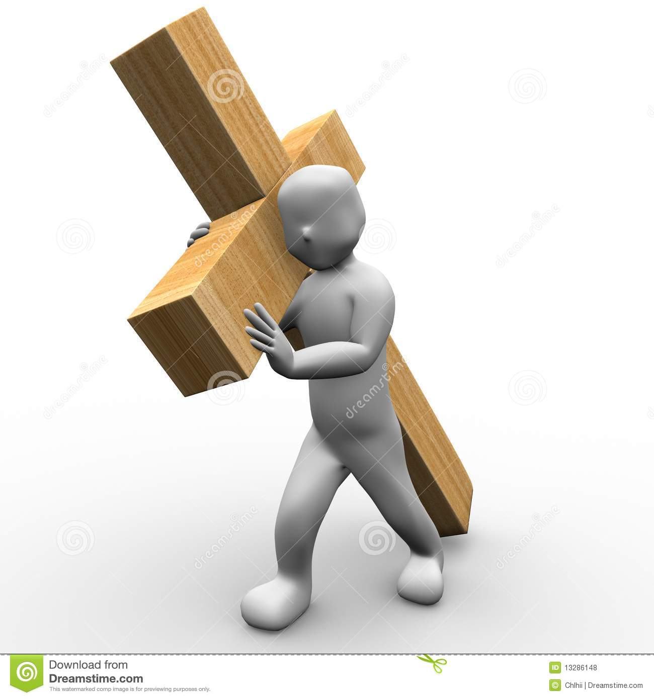 free clip art jesus carrying cross - photo #34