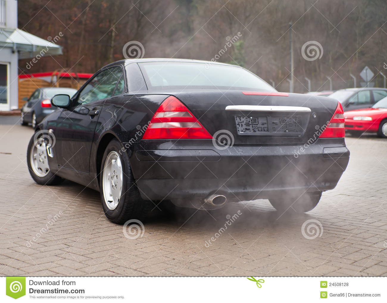 Cars and air pollution stock photo image of dioxide 24508128 cars and air pollution biocorpaavc Images