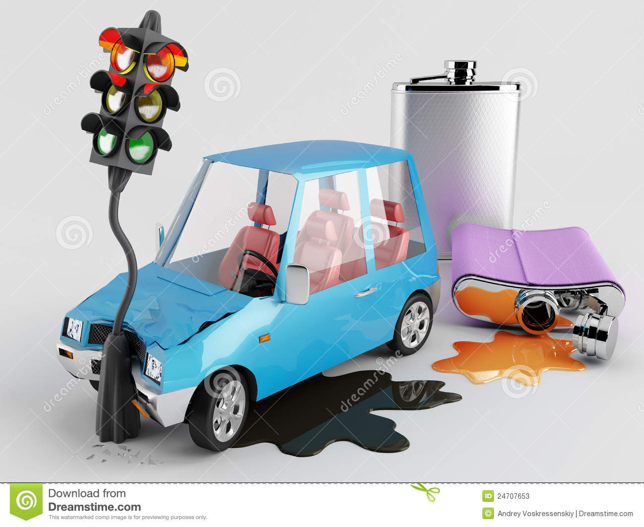 cars and alcohol stock illustration illustration of speed 24707653