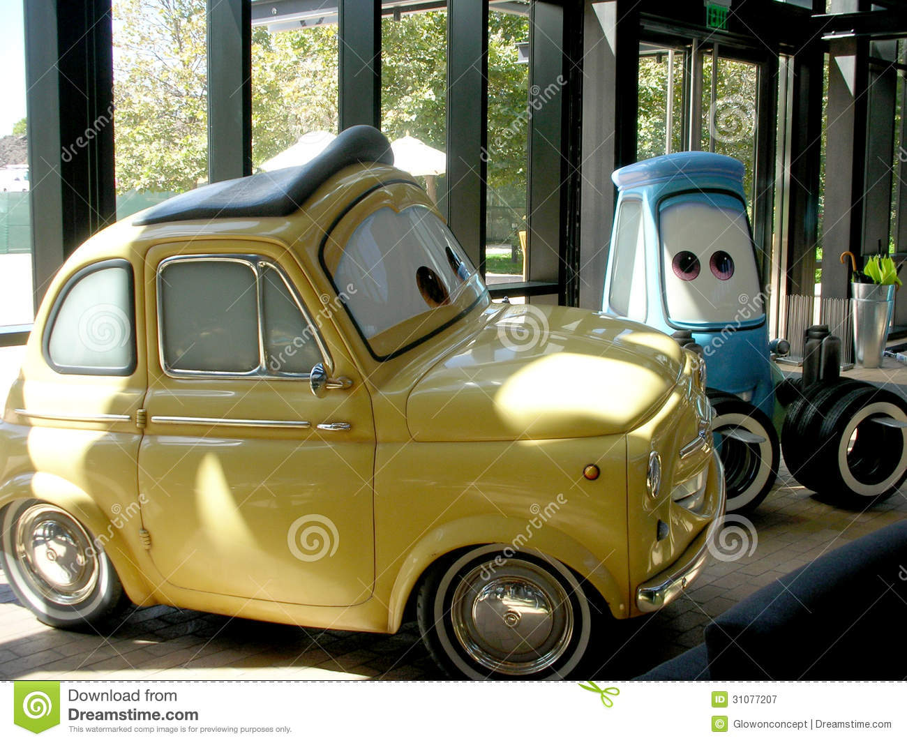 Cars Animation Characters From Pixar Studio Film Editorial