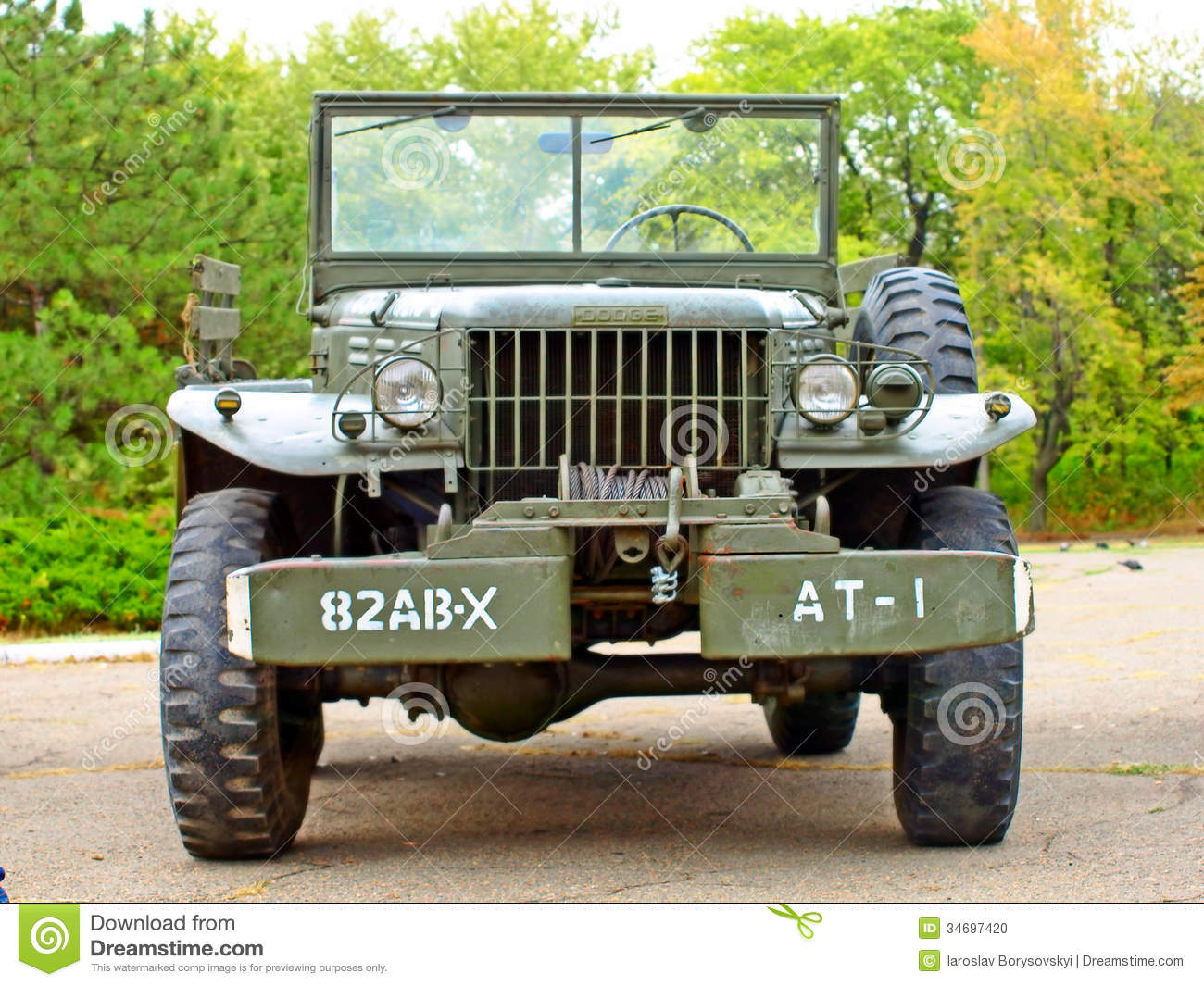 Cars Dodge Wc61 Us Army Historical Reenactment Of Wwii
