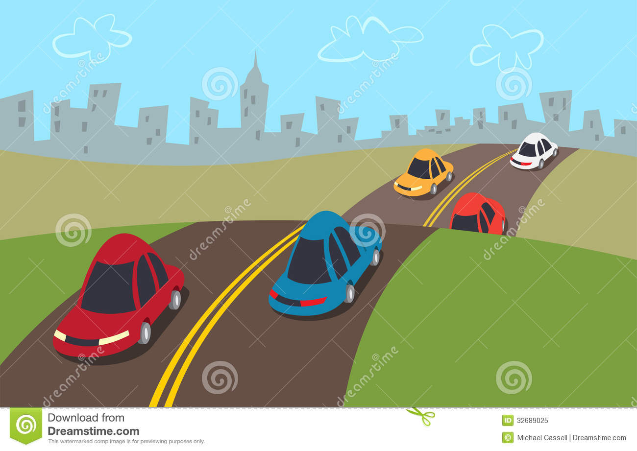 Cars Highway Stock Illustrations 2 470 Cars Highway Stock