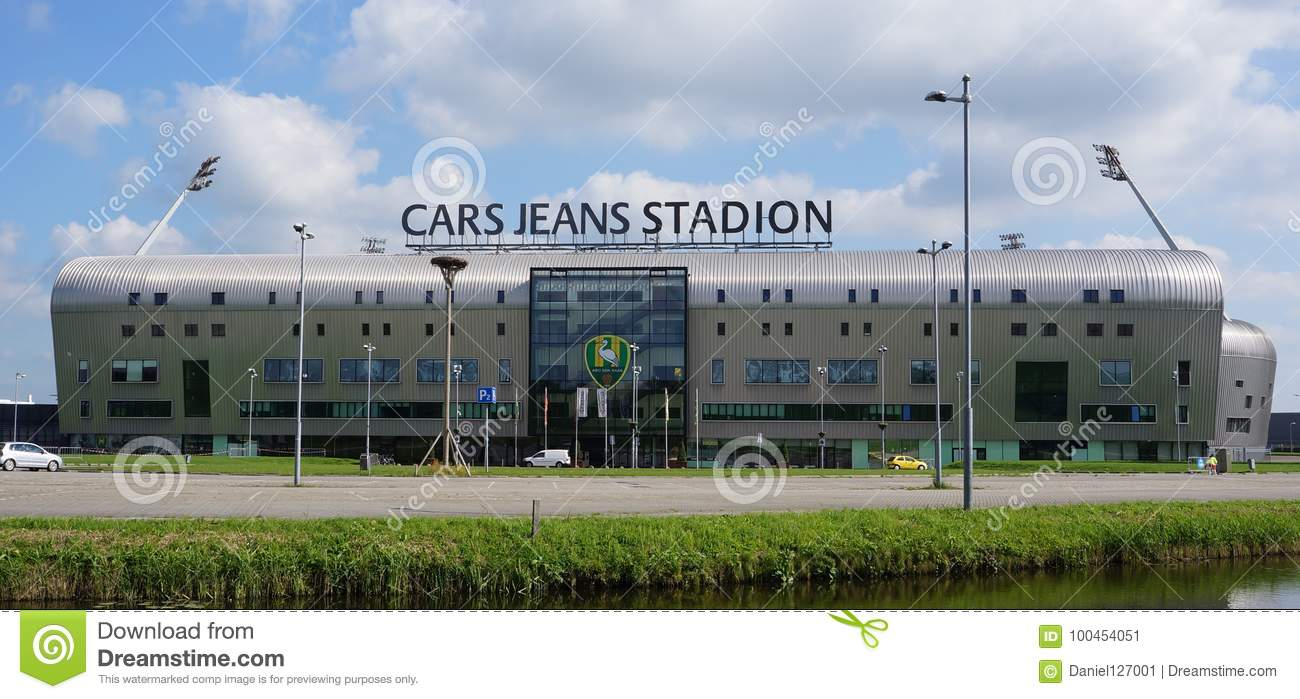 Cars Jeans Stadion In The Hague The Netherlands Editorial Photo Image Of Premier Eredivisie 100454051